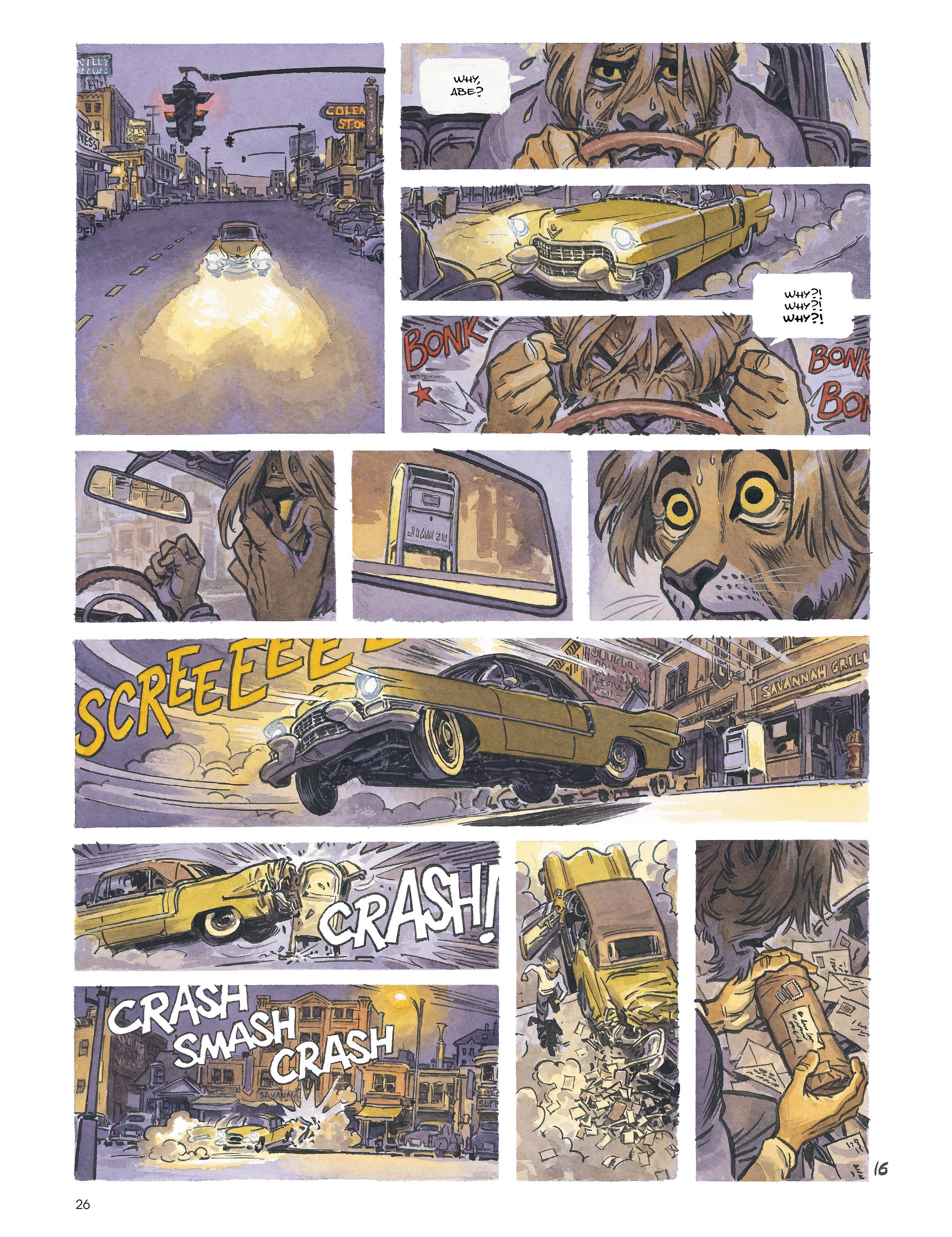 Read online Blacksad: Amarillo comic -  Issue # Full - 25