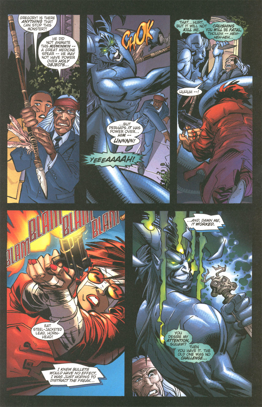 Read online Painkiller Jane/Hellboy comic -  Issue # Full - 14