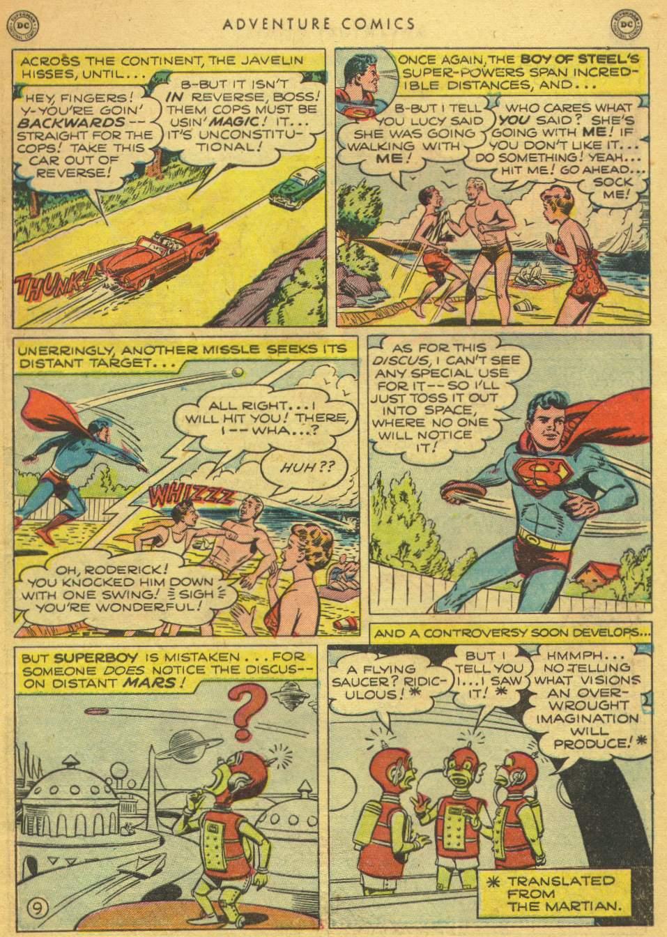 Read online Adventure Comics (1938) comic -  Issue #162 - 11