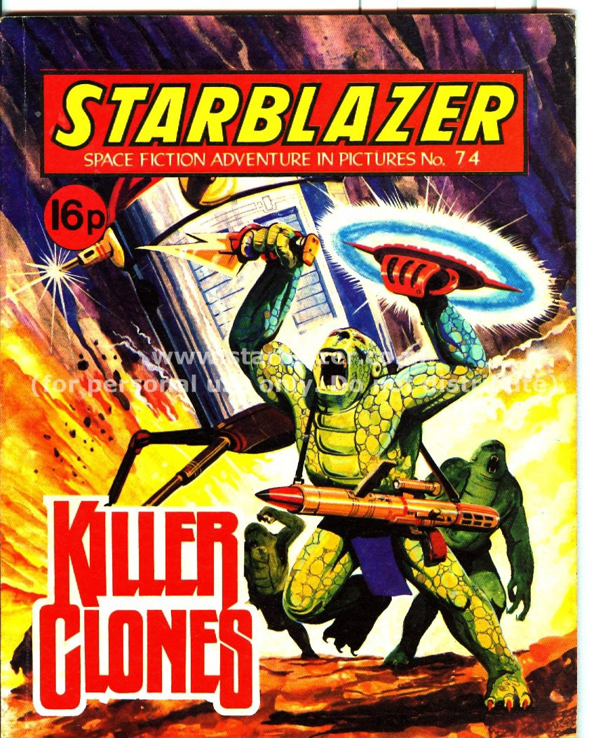 Starblazer issue 74 - Page 1