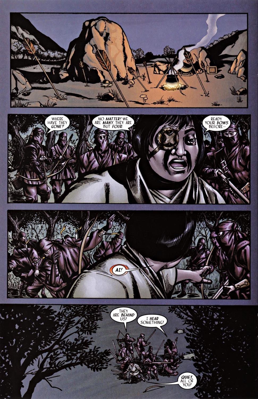 Read online Silken Ghost comic -  Issue #2 - 12