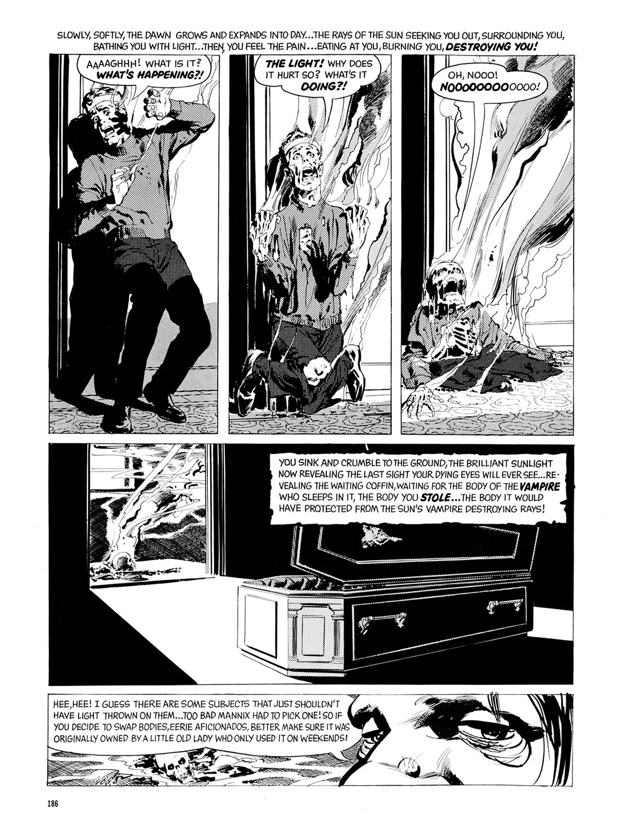 Read online Eerie Archives comic -  Issue # TPB 2 - 187