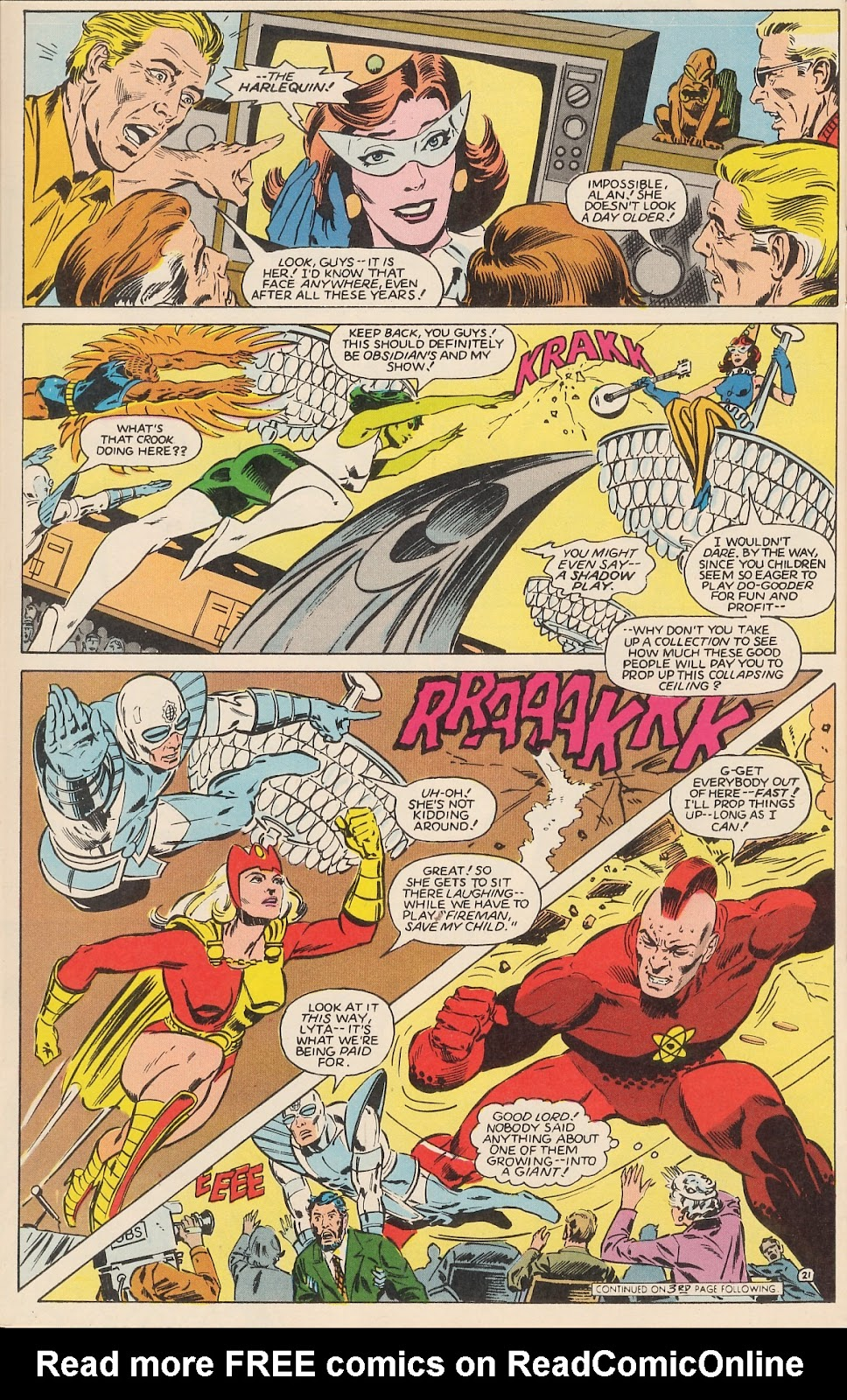 Infinity Inc. (1984) issue 12 - Page 27