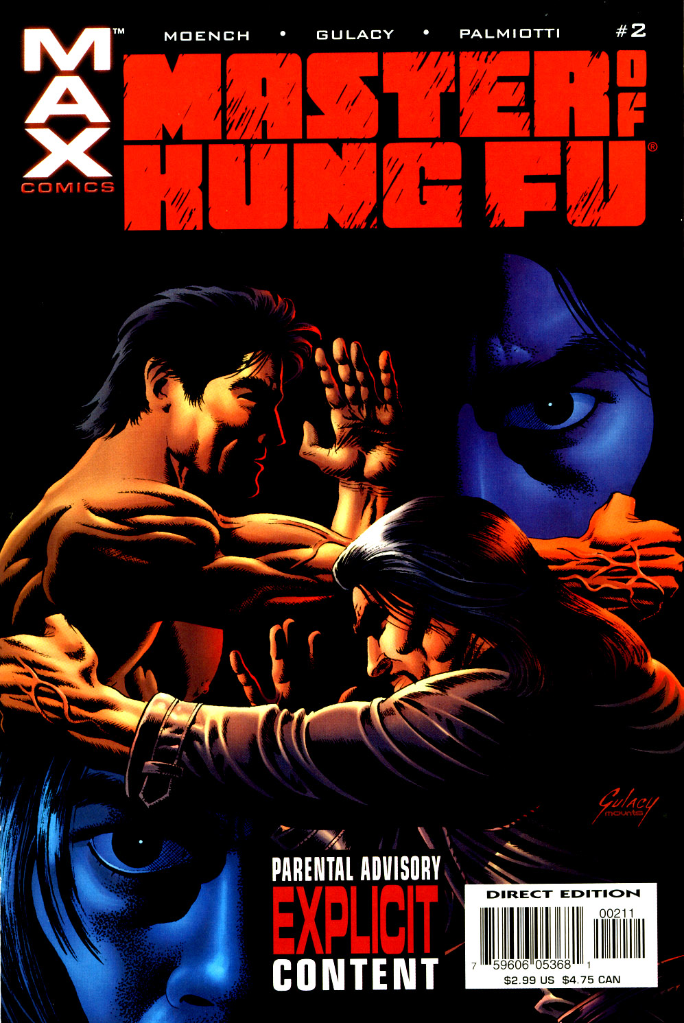 Read online Shang-Chi: Master of Kung Fu comic -  Issue #2 - 1
