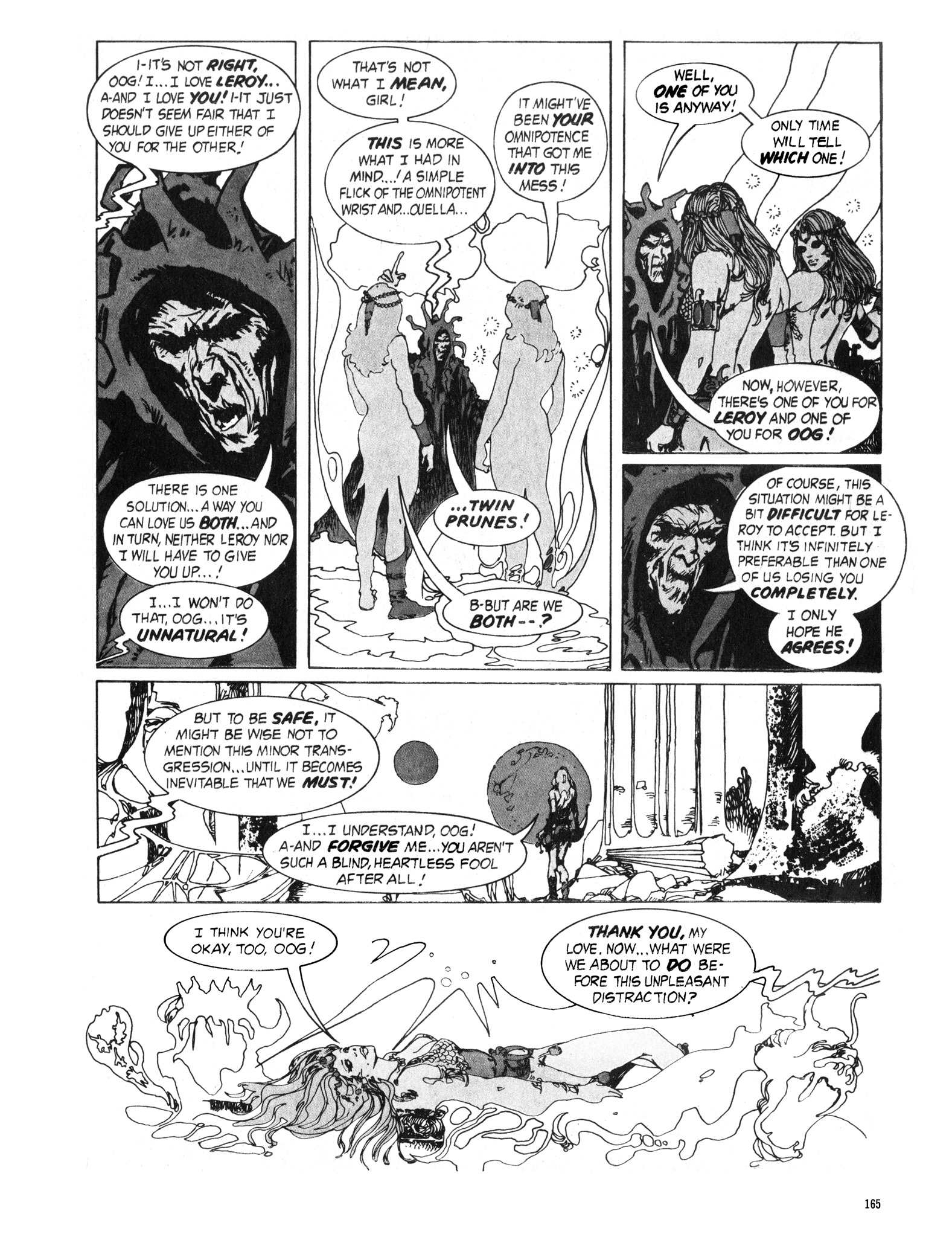 Read online Eerie Archives comic -  Issue # TPB 16 - 166