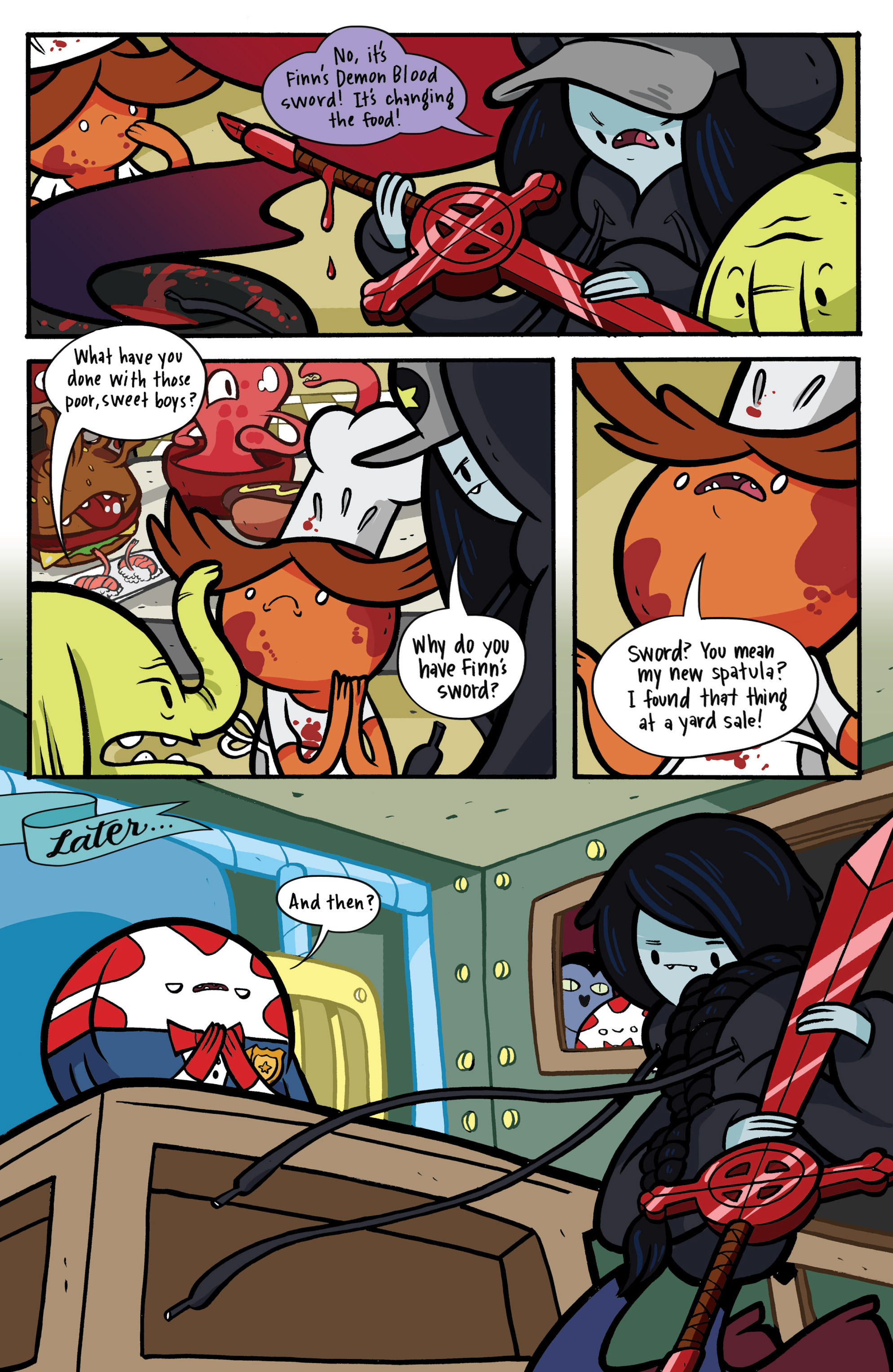 Read online Adventure Time: Candy Capers comic -  Issue #2 - 23