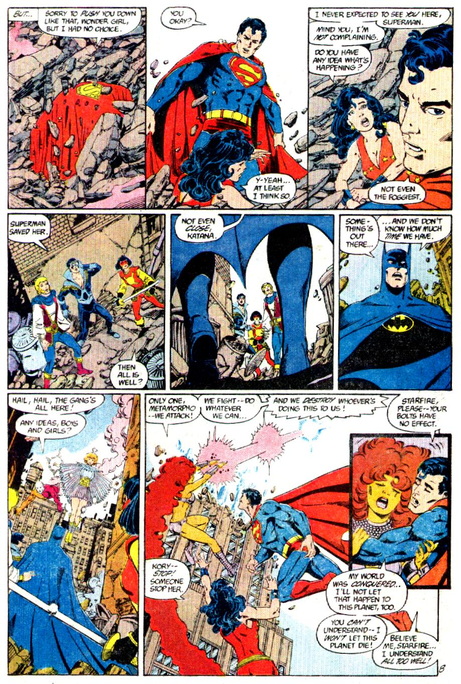 Read online Crisis on Infinite Earths (1985) comic -  Issue #3 - 9