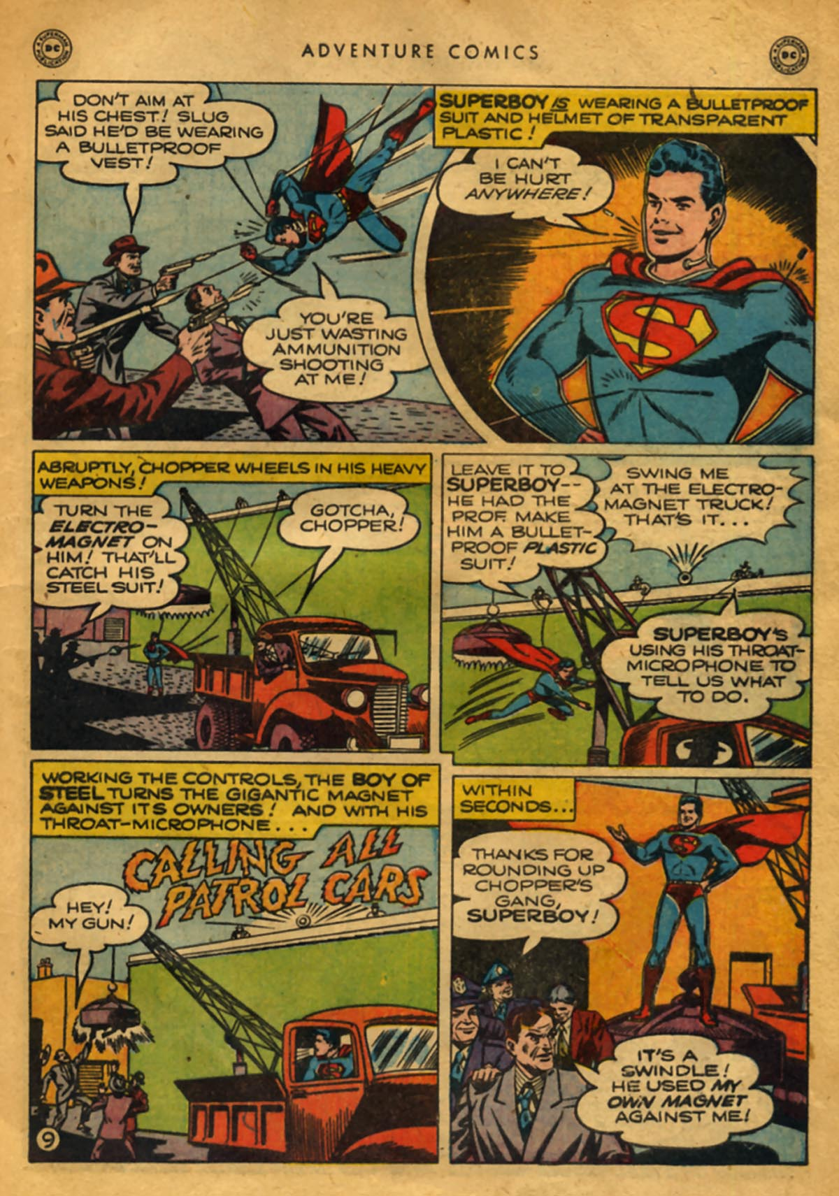 Read online Adventure Comics (1938) comic -  Issue #141 - 11