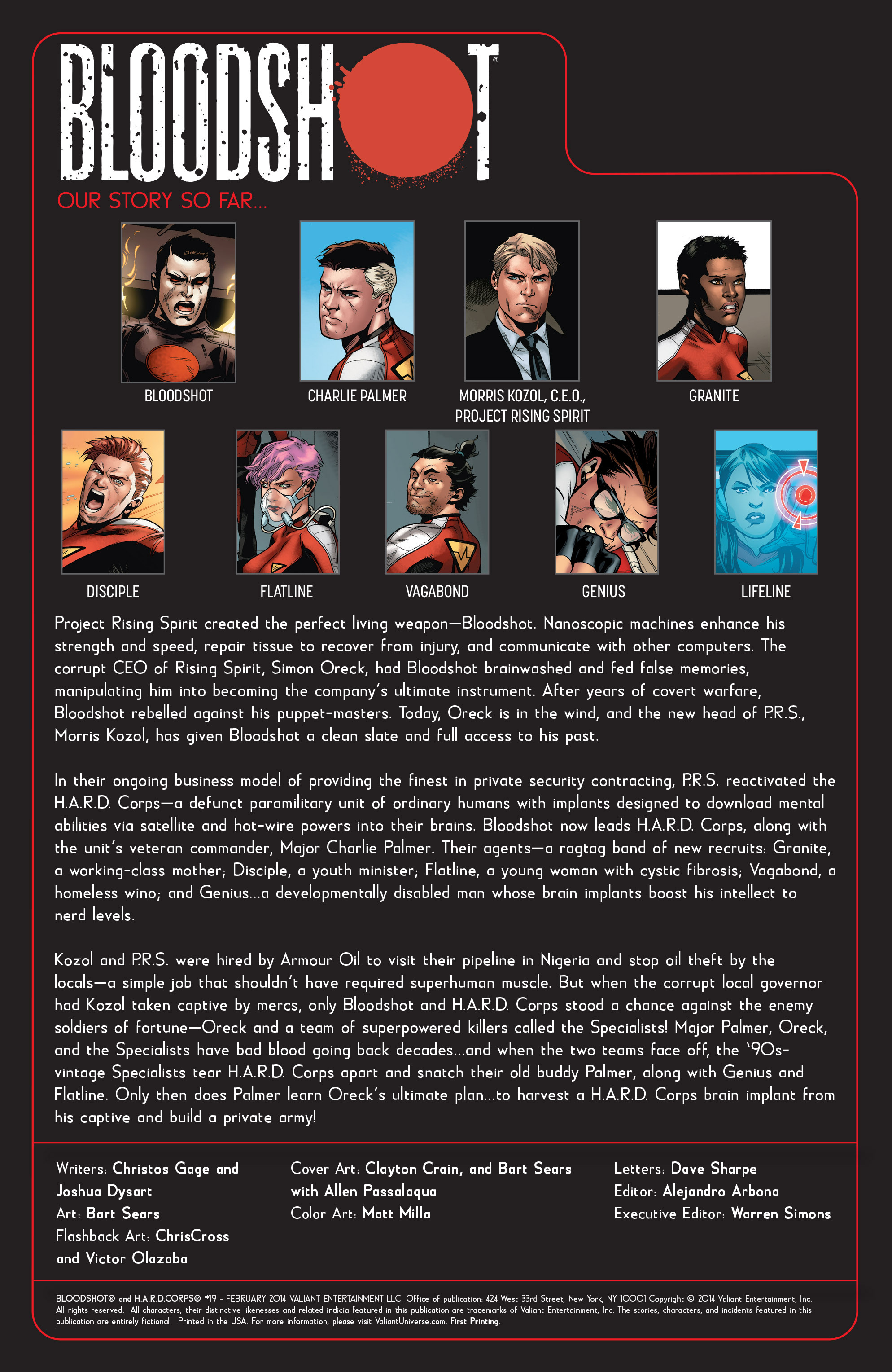 Read online Bloodshot and H.A.R.D.Corps comic -  Issue #19 - 2
