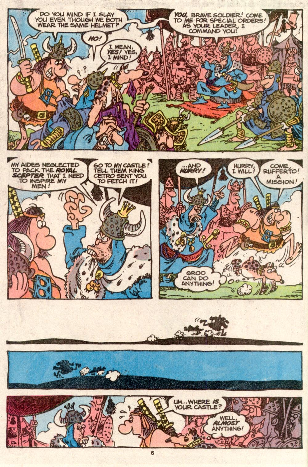 Read online Sergio Aragonés Groo the Wanderer comic -  Issue #73 - 6