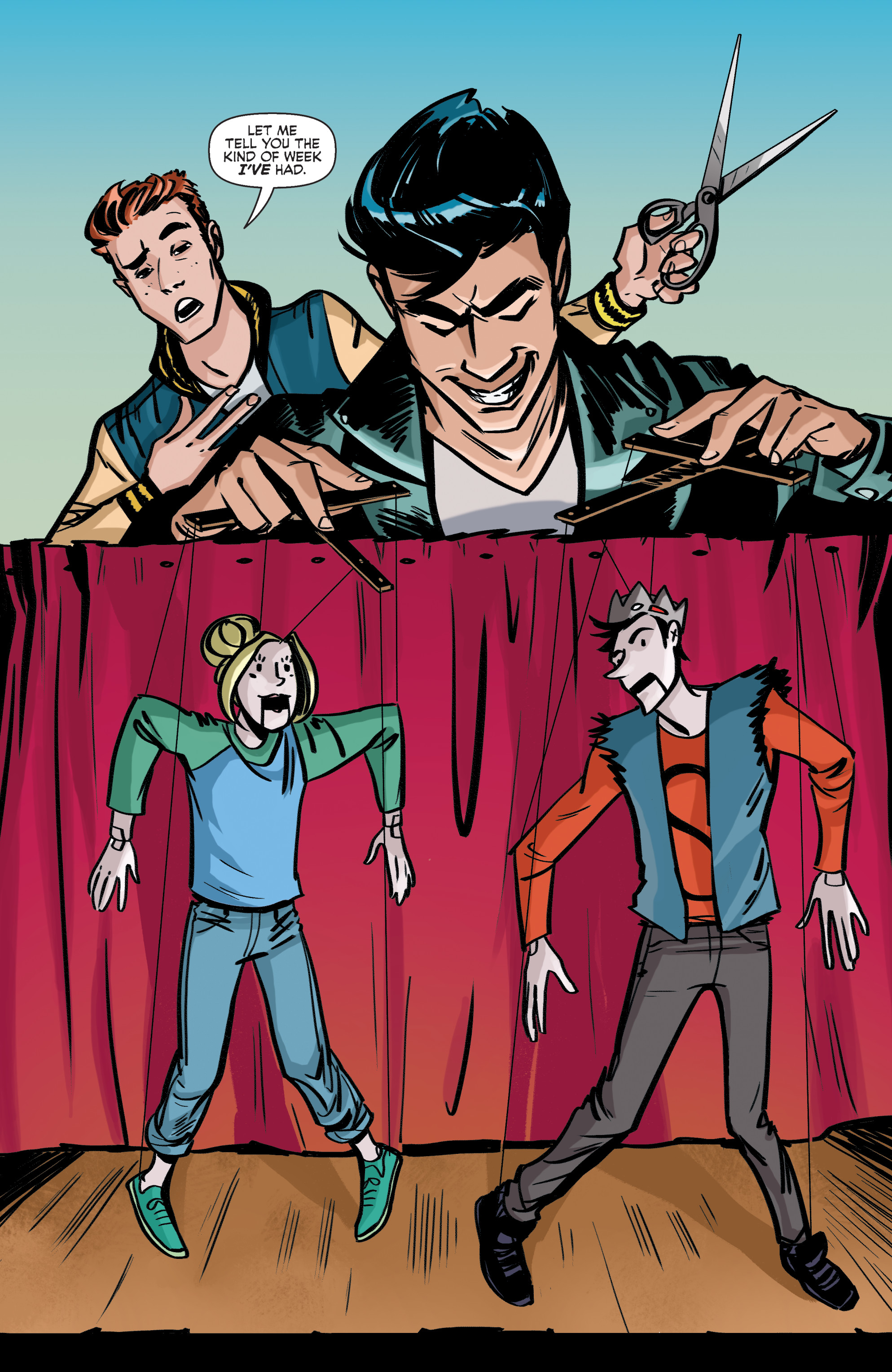 Read online Archie (2015) comic -  Issue #5 - 3