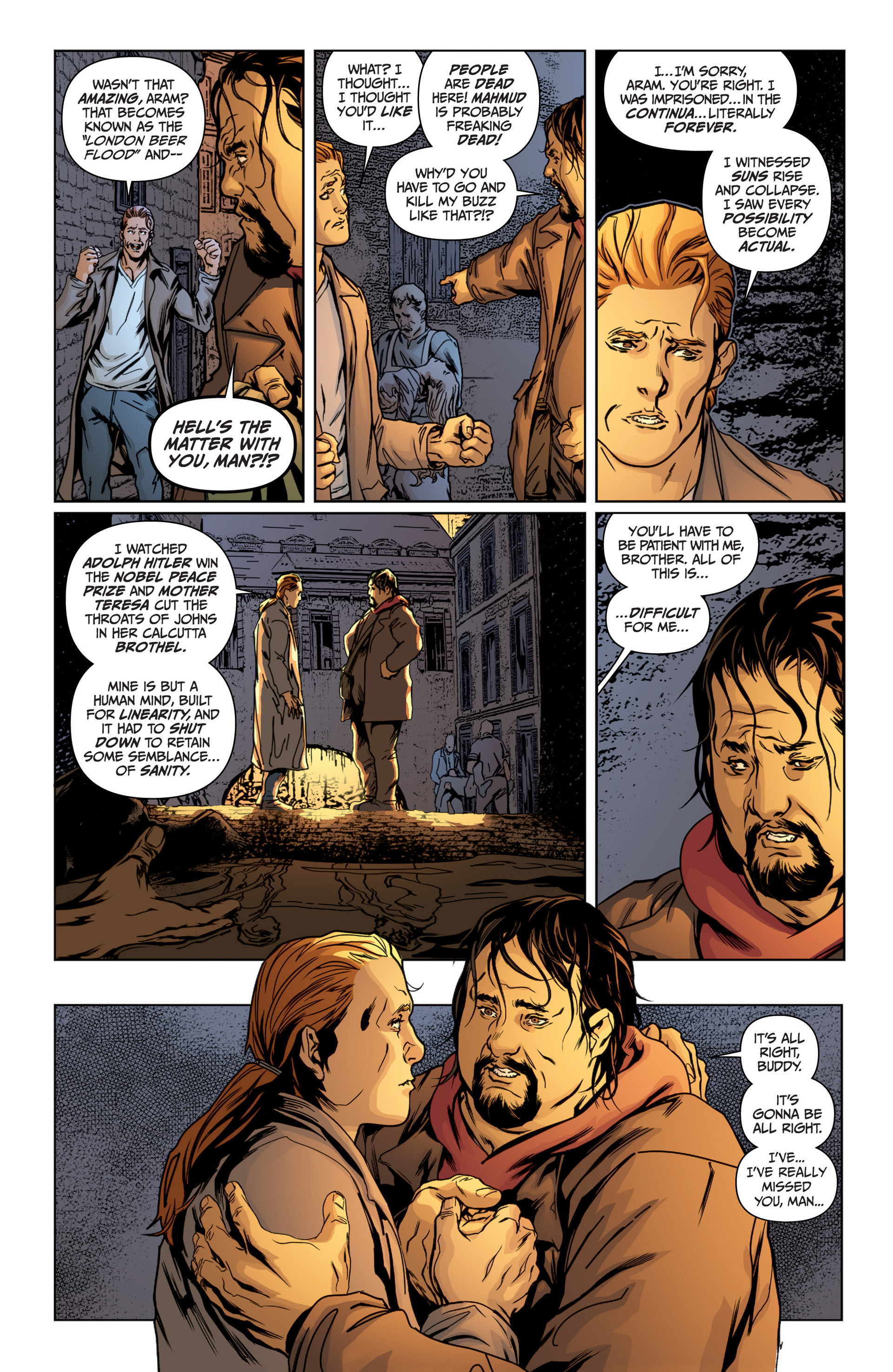 Read online Archer and Armstrong comic -  Issue #15 - 17