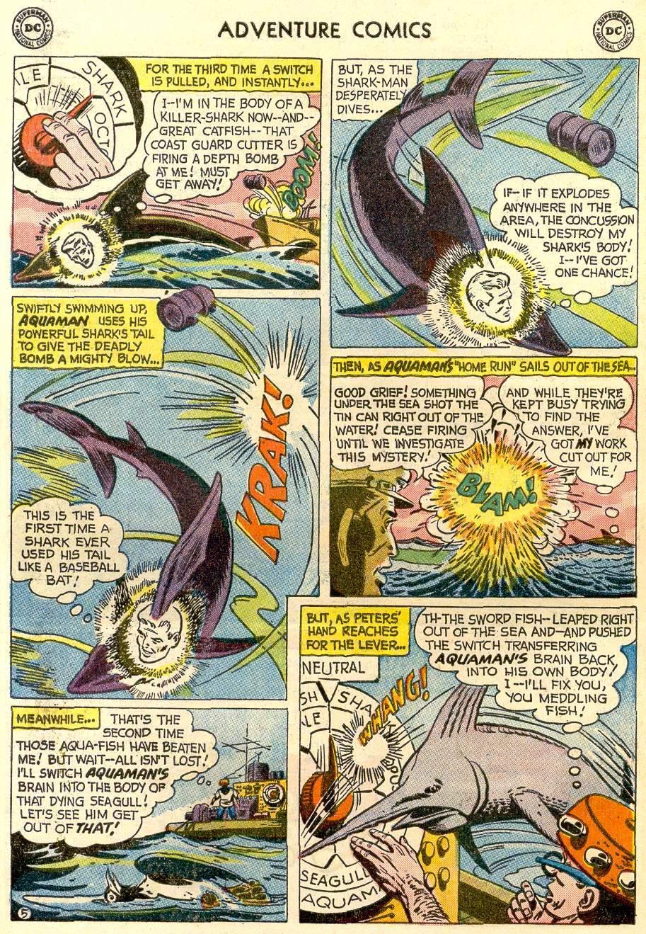 Read online Adventure Comics (1938) comic -  Issue #259 - 22