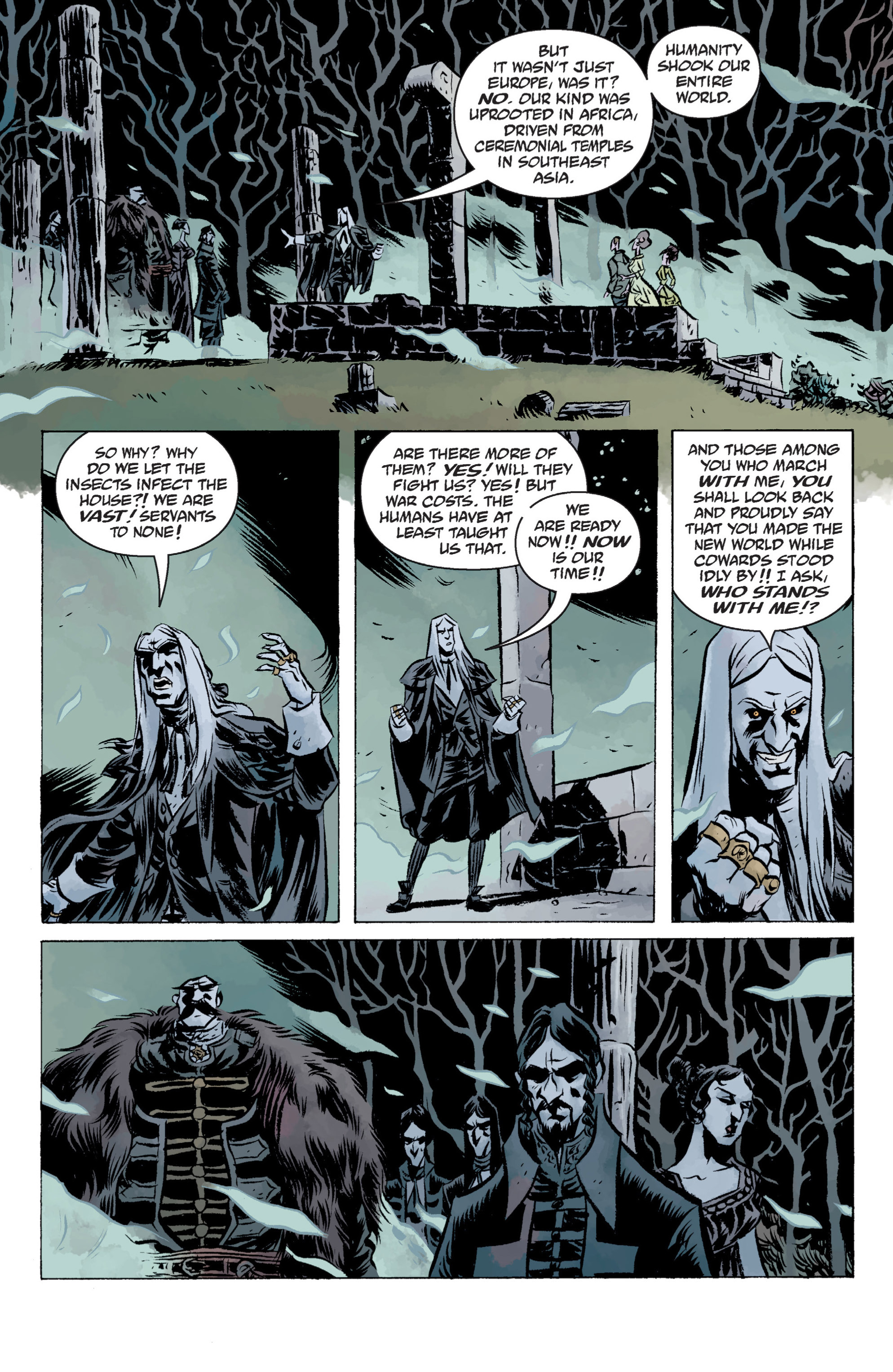 Read online B.P.R.D. (2003) comic -  Issue # TPB 13 - 74