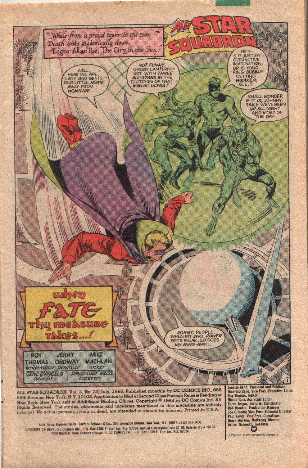 Read online All-Star Squadron comic -  Issue #23 - 3