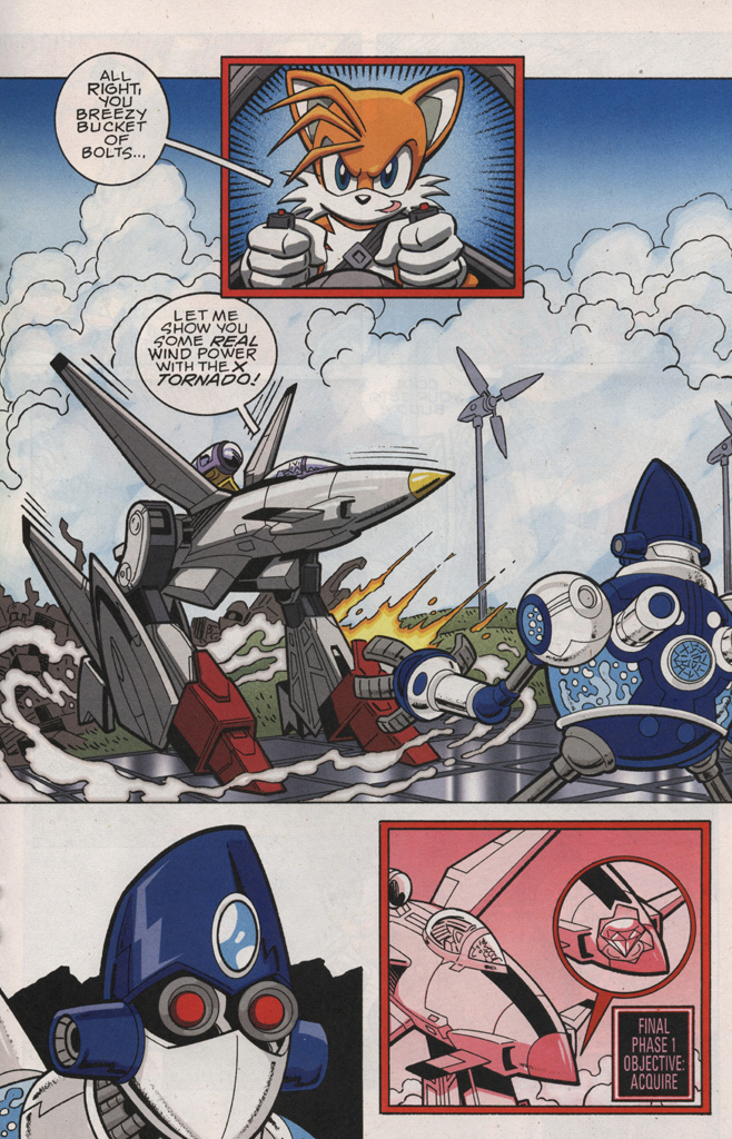 Read online Sonic X comic -  Issue #28 - 19