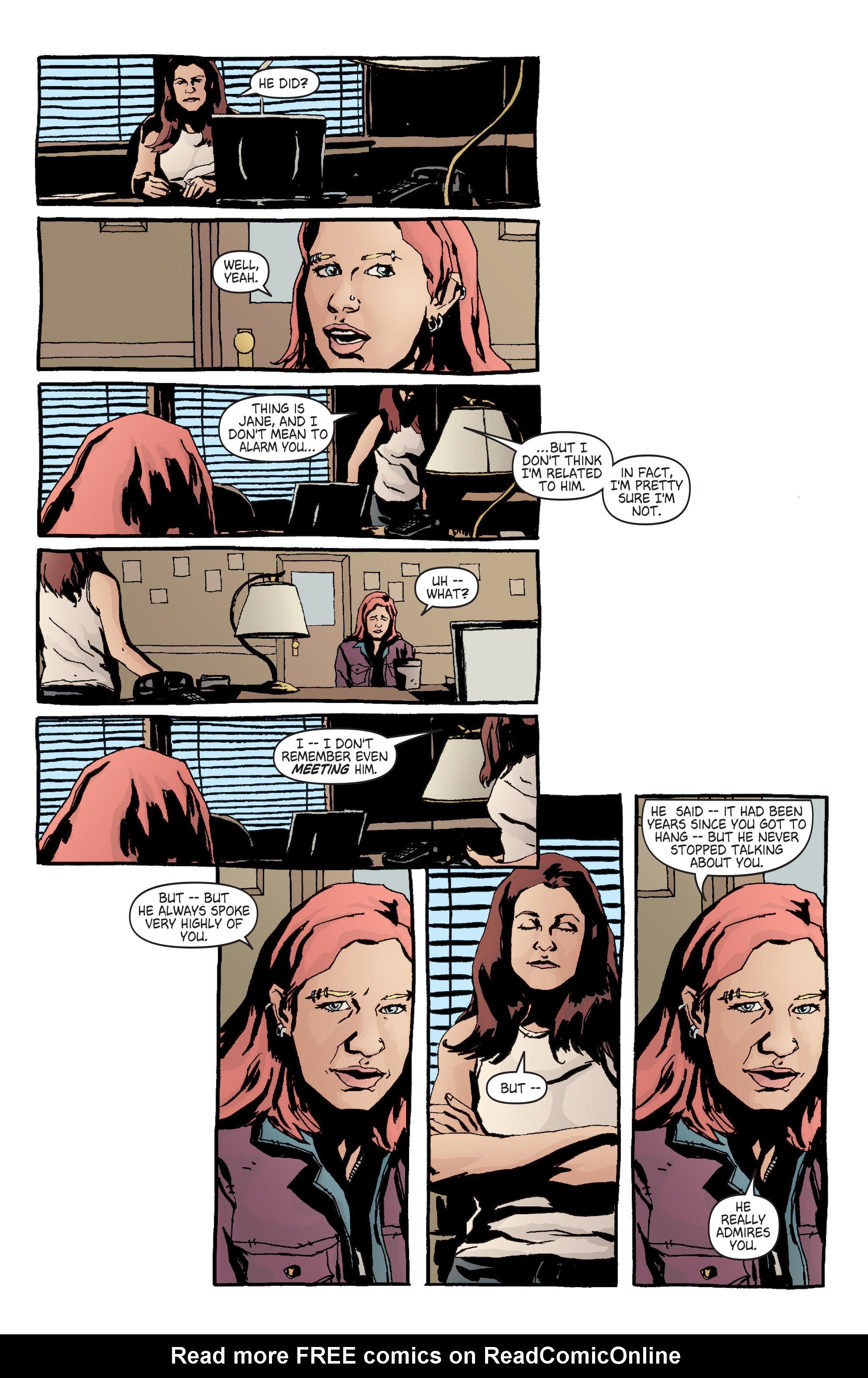 Read online Alias comic -  Issue #7 - 5