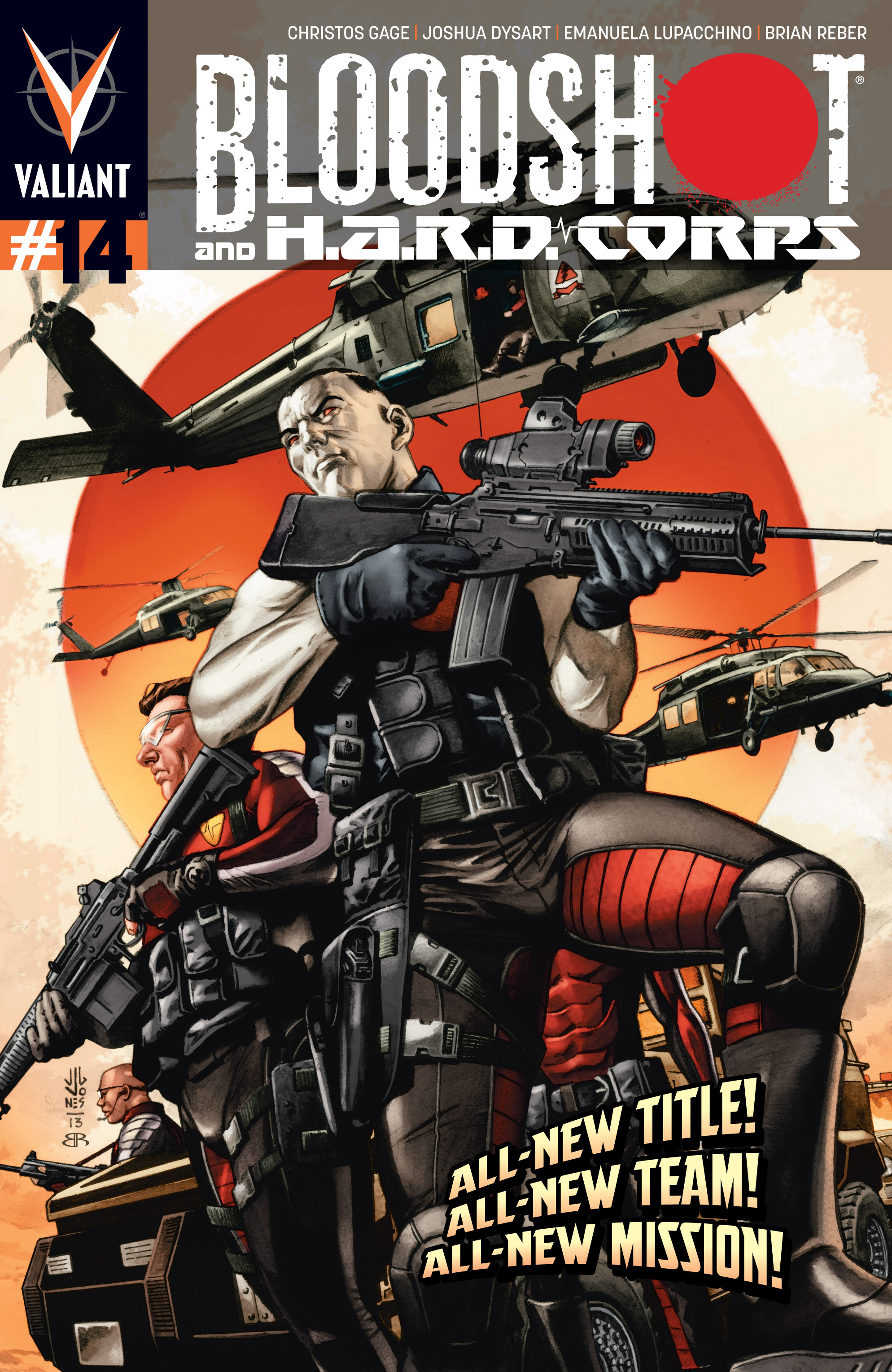 Read online Bloodshot and H.A.R.D.Corps comic -  Issue # TPB 4 - 6