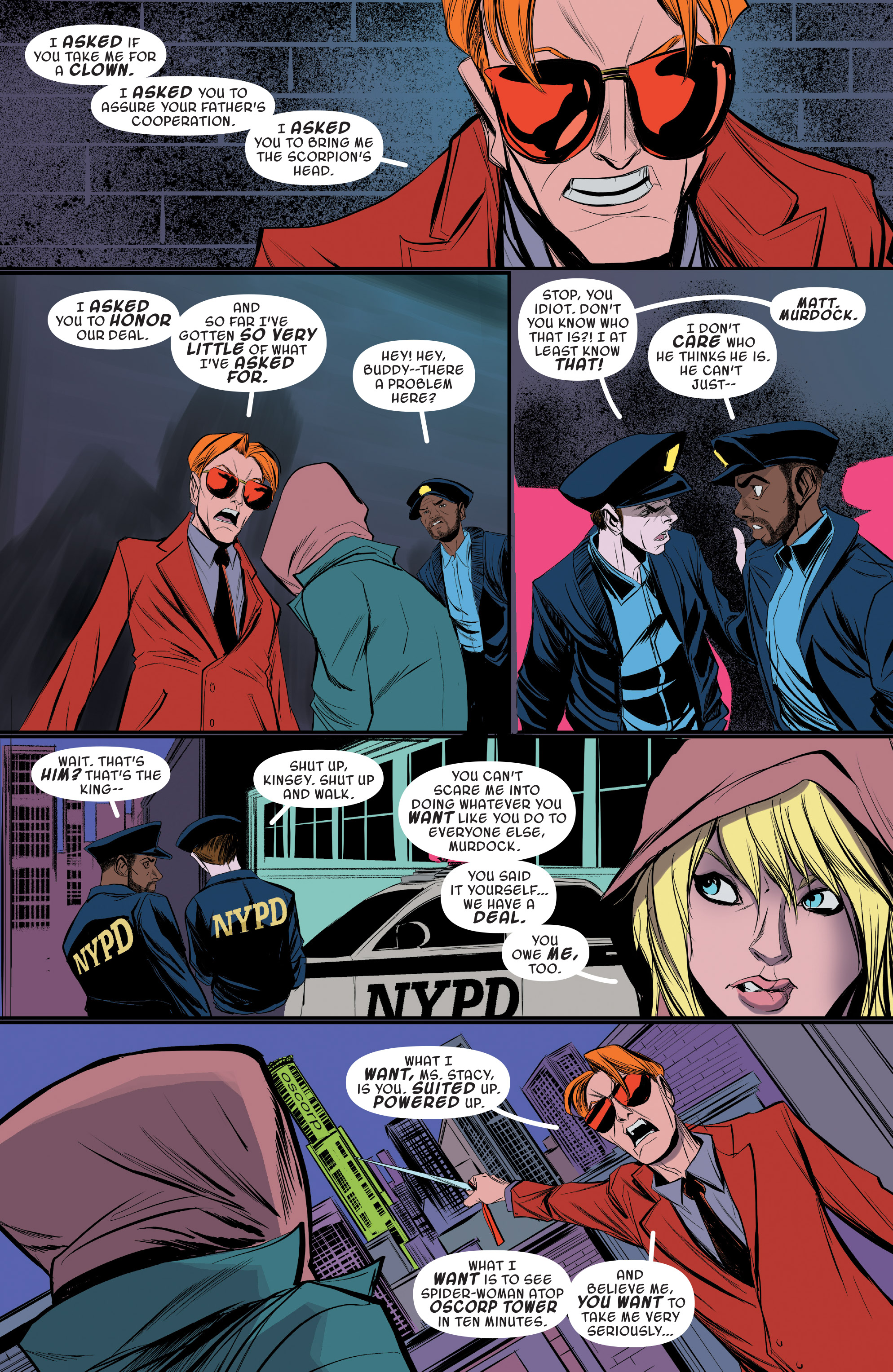 Read online Spider-Gwen [II] comic -  Issue #19 - 12