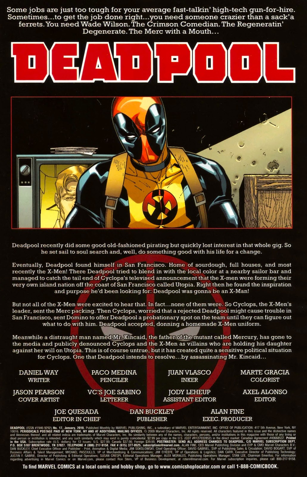 Read online Deadpool (2008) comic -  Issue #17 - 2