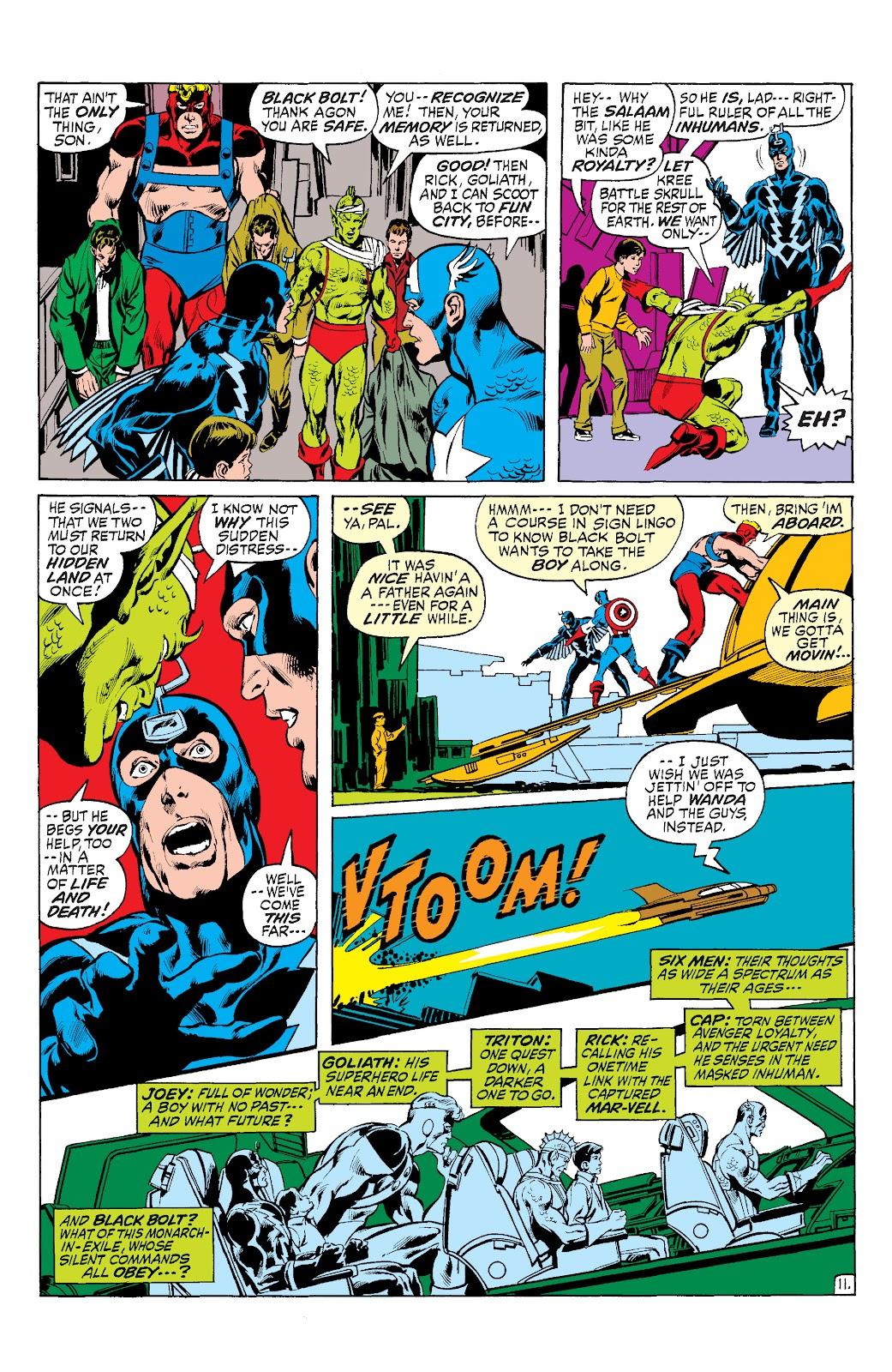 Read online Marvel Masterworks: The Inhumans comic -  Issue # TPB 1 (Part 3) - 6