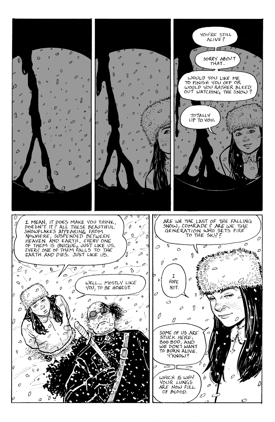 Read online Five Years comic -  Issue #9 - 8