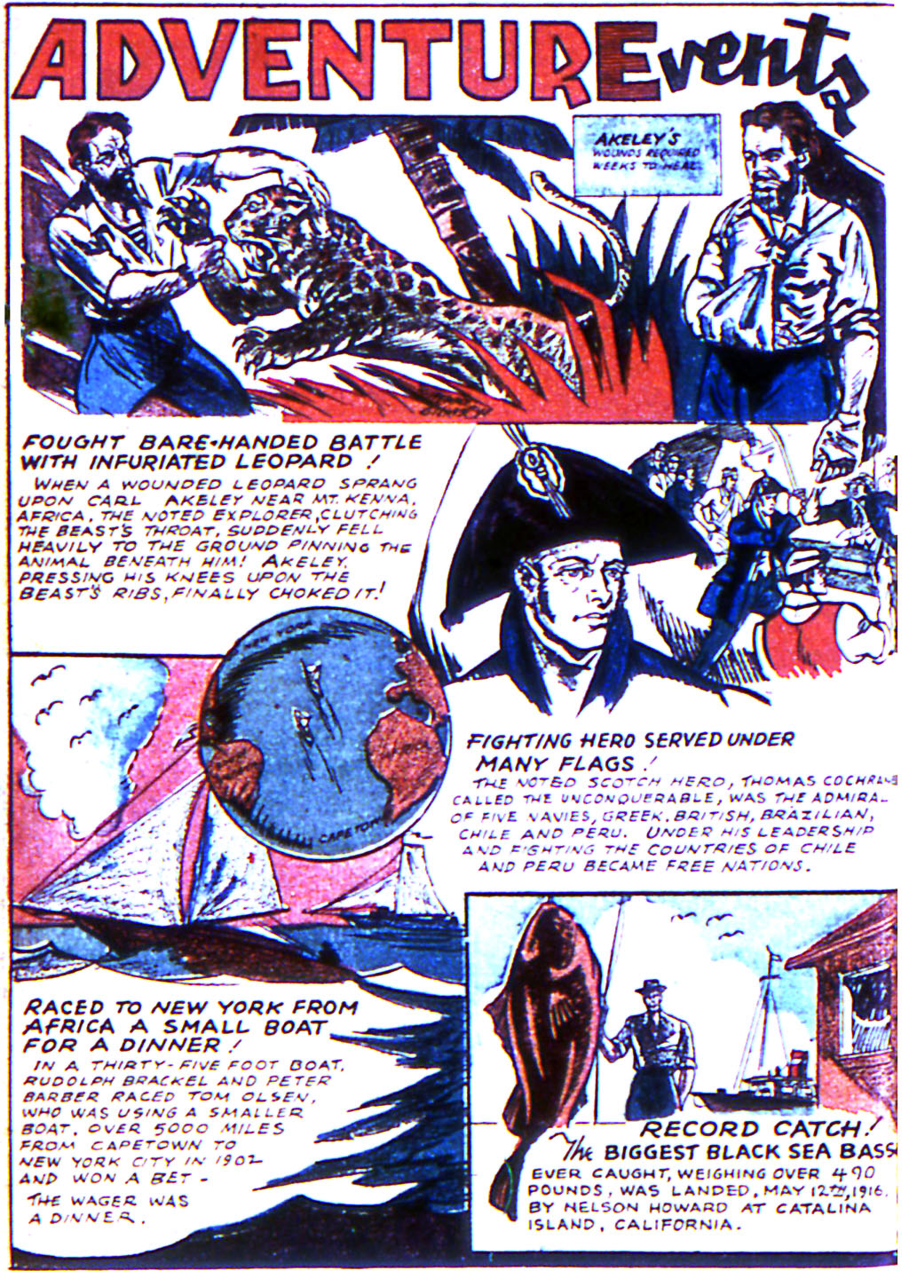 Read online Adventure Comics (1938) comic -  Issue #44 - 42