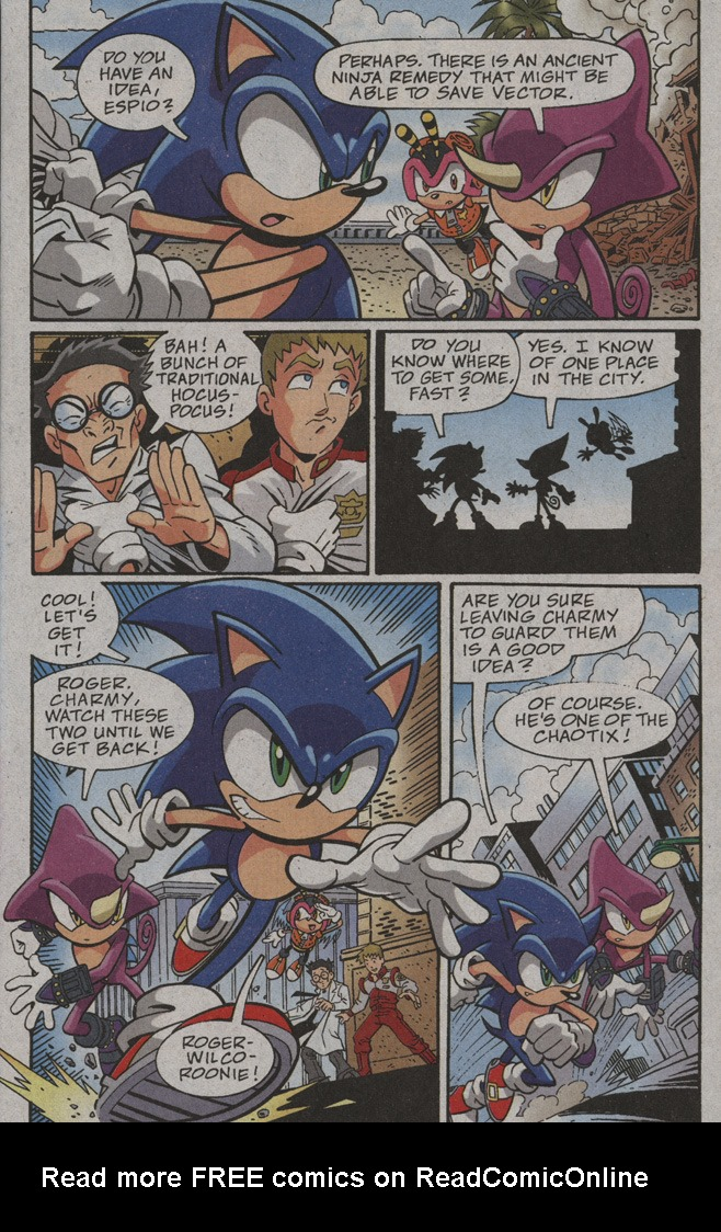 Read online Sonic X comic -  Issue #39 - 7
