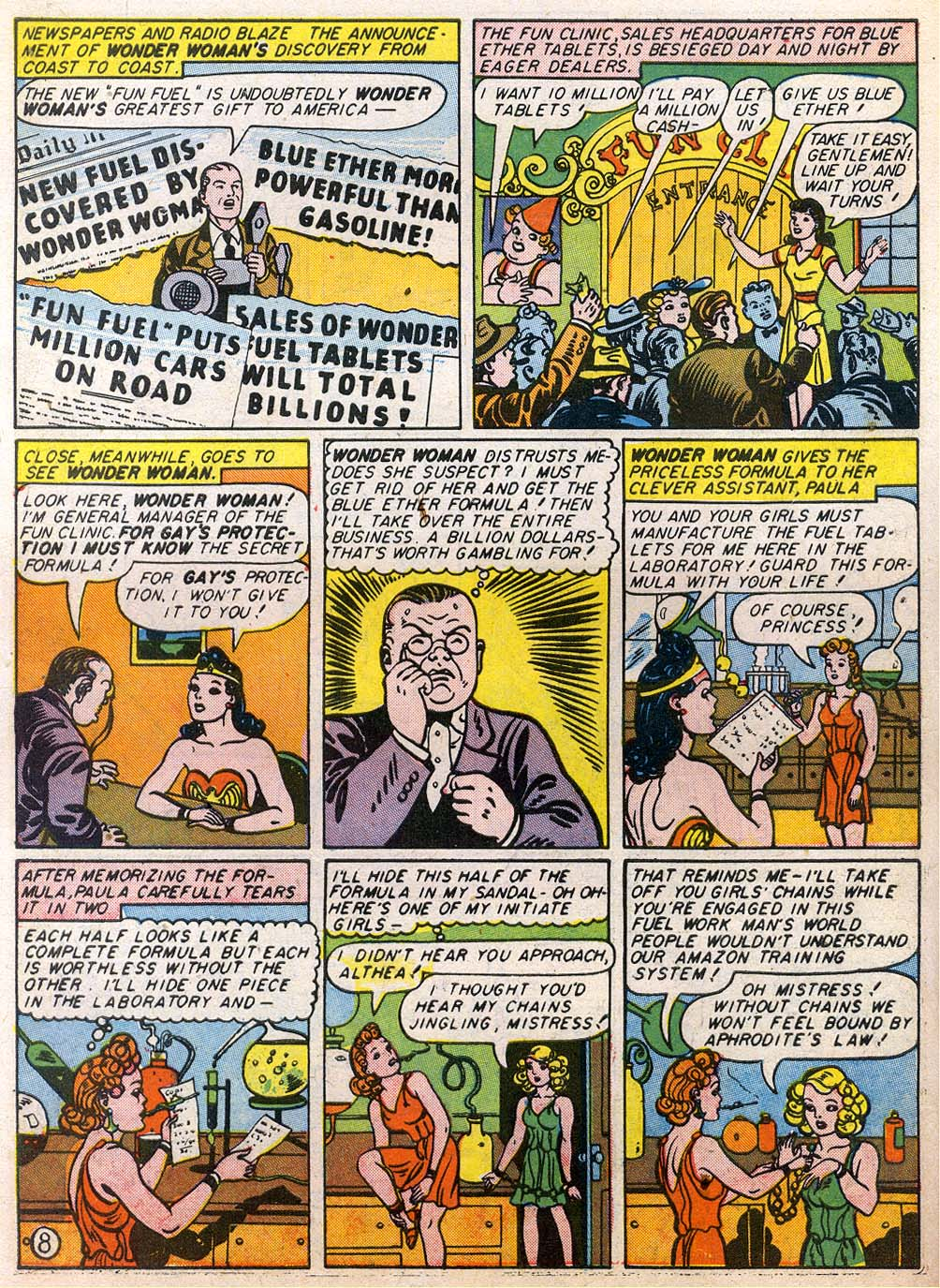Read online Sensation (Mystery) Comics comic -  Issue #27 - 10