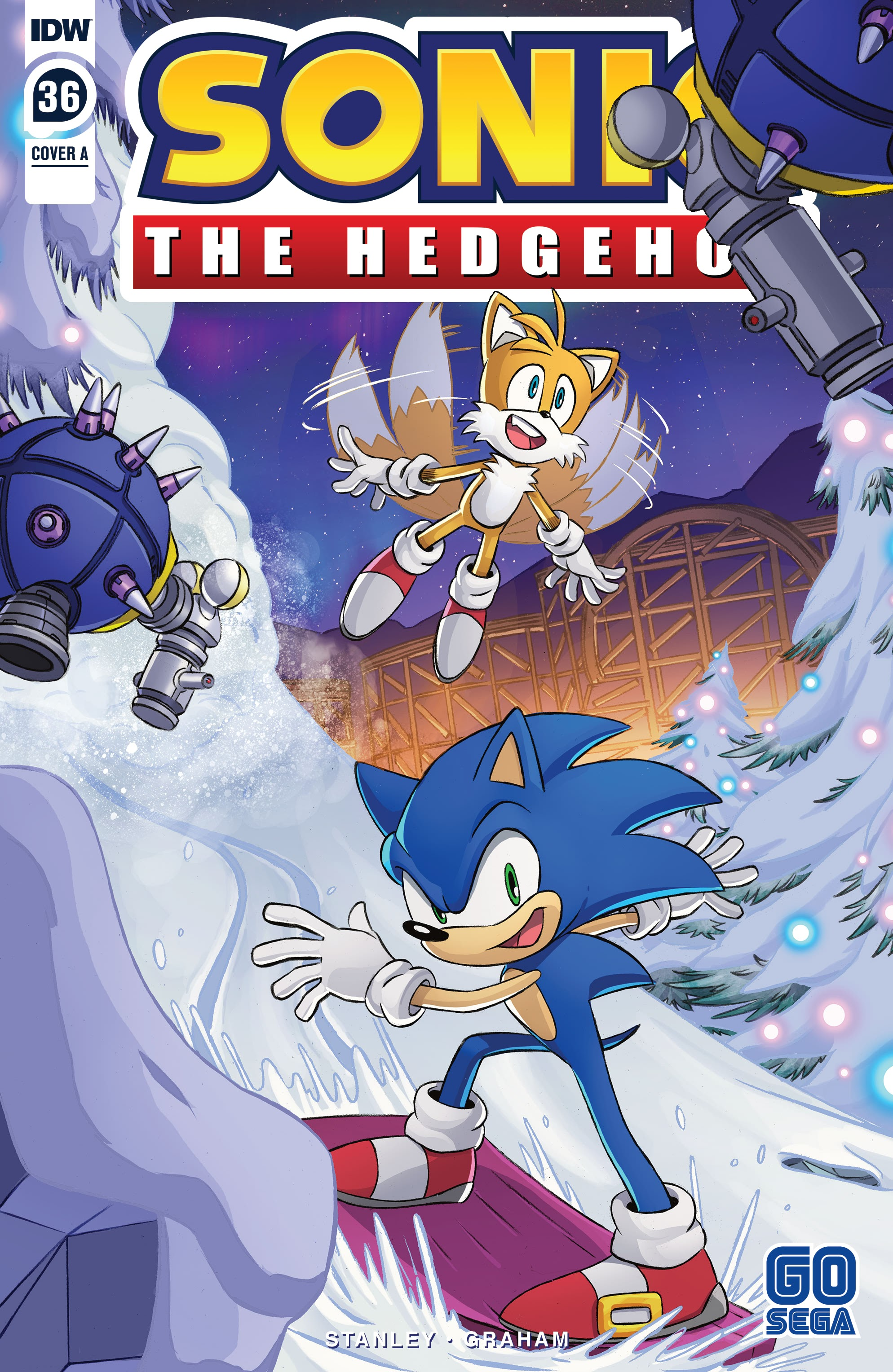 Sonic the Hedgehog (2018) 36 Page 1