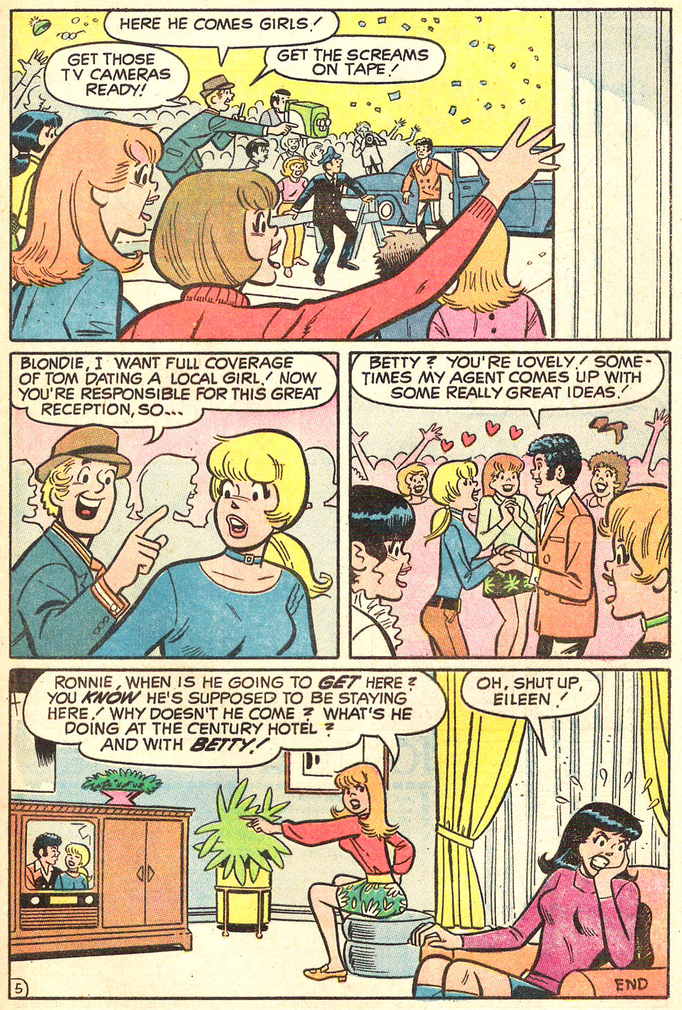 Read online Archie's Girls Betty and Veronica comic -  Issue #186 - 33