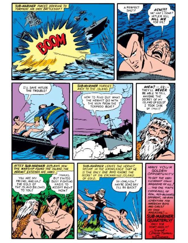 Read online All-Winners Comics comic -  Issue #5 - 53
