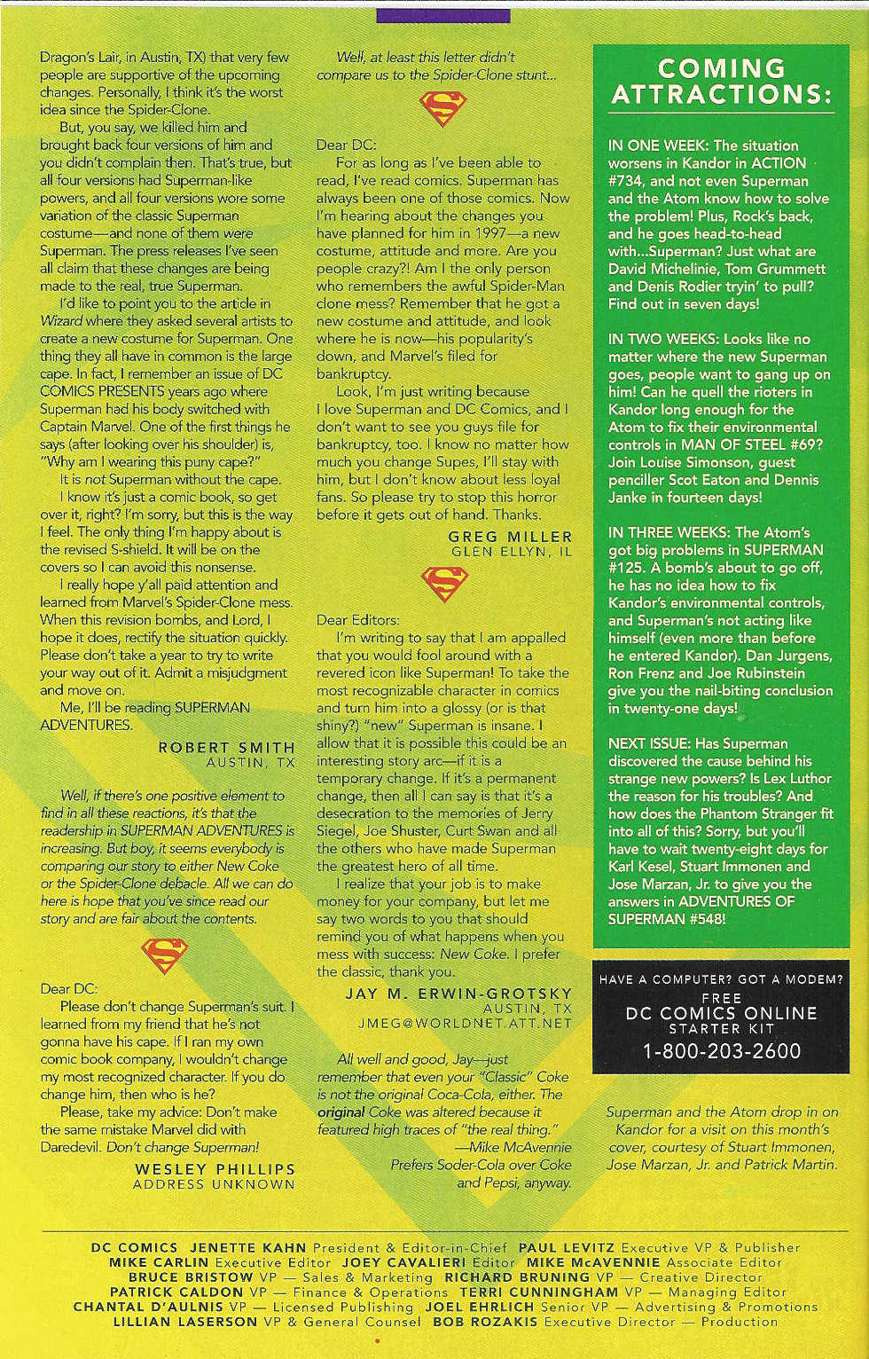 Read online Adventures of Superman (1987) comic -  Issue #547 - 25