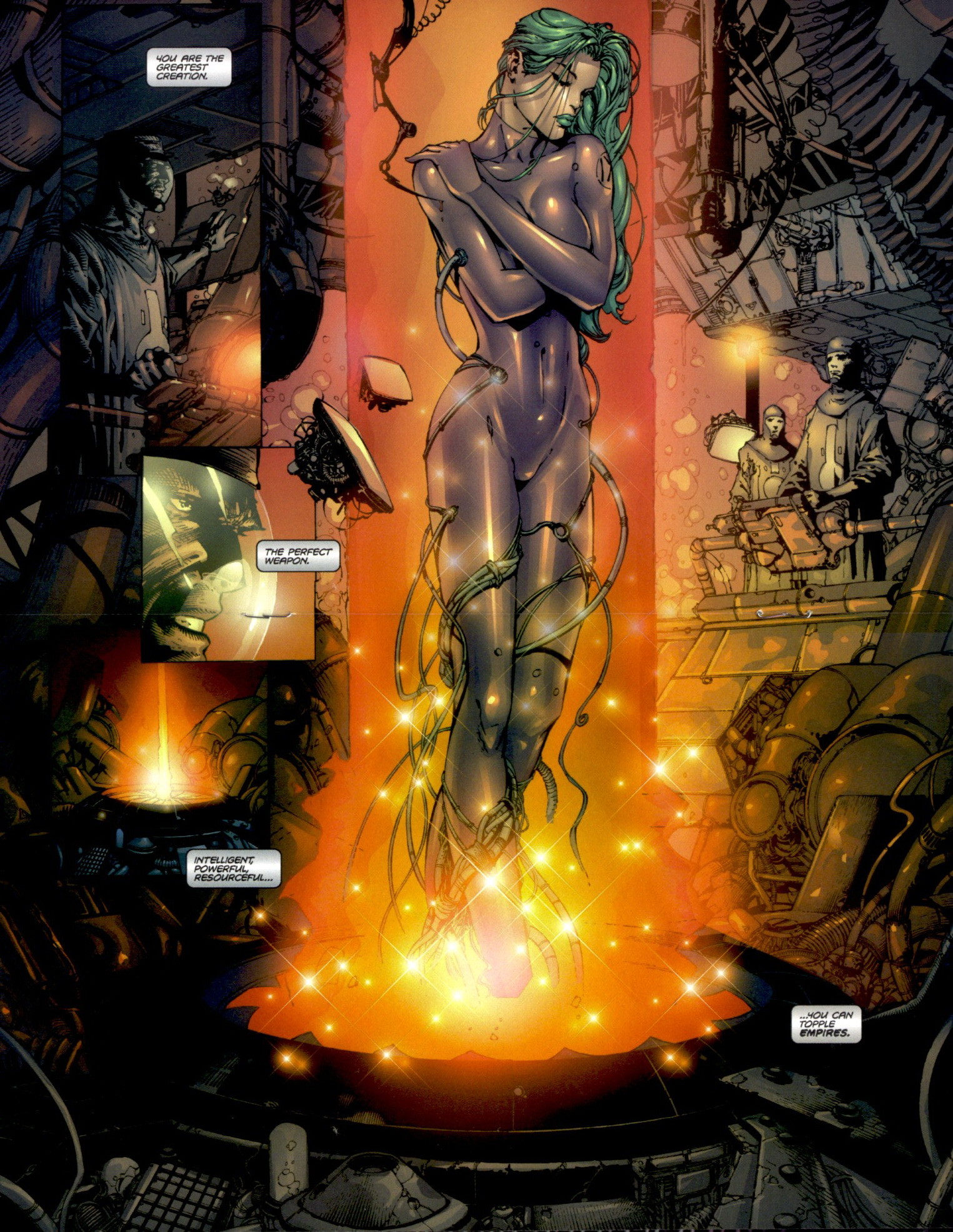 Read online Aphrodite IX (2000) comic -  Issue #0 - 8