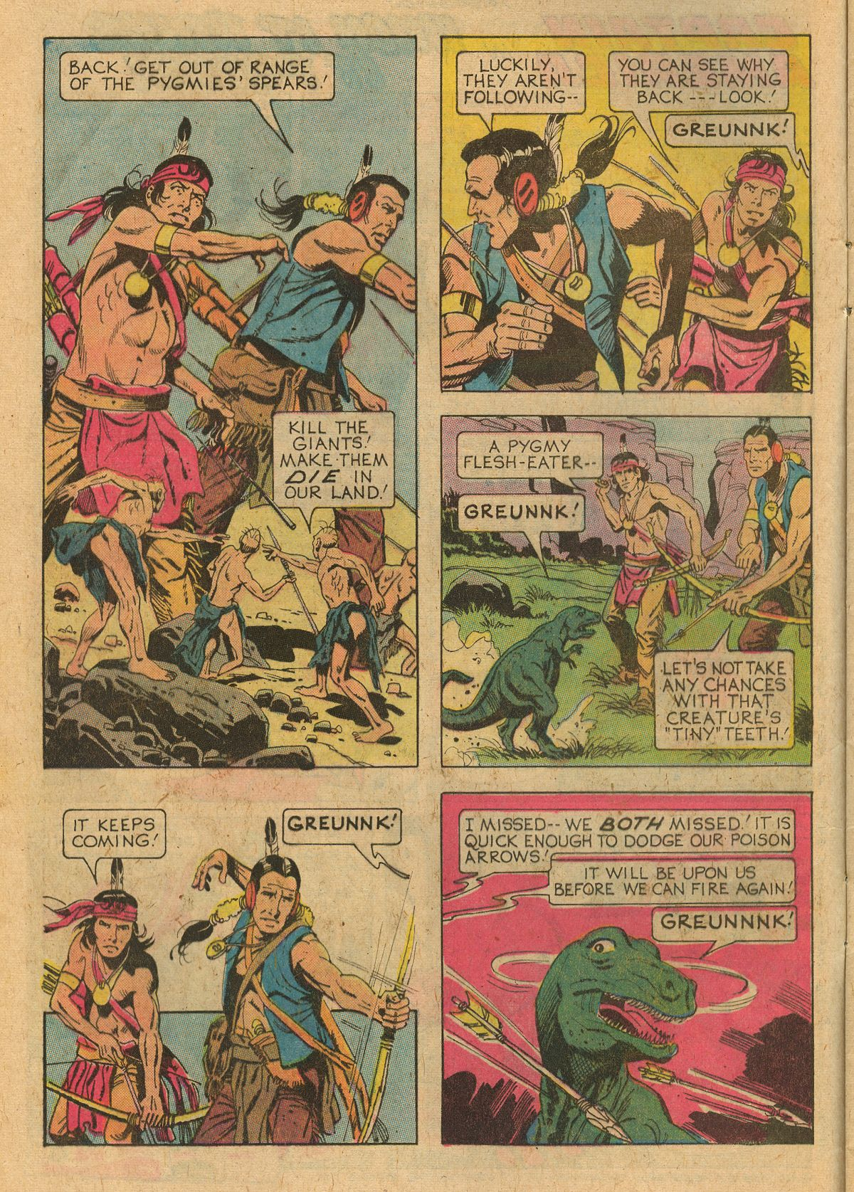 Read online Turok, Son of Stone comic -  Issue #107 - 8