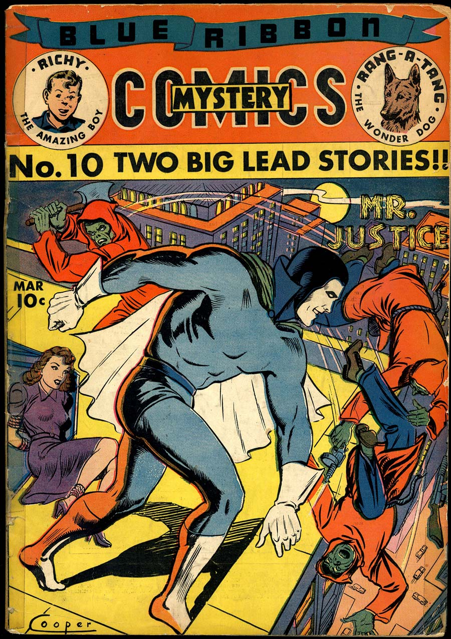 Blue Ribbon Comics (1939) issue 10 - Page 1