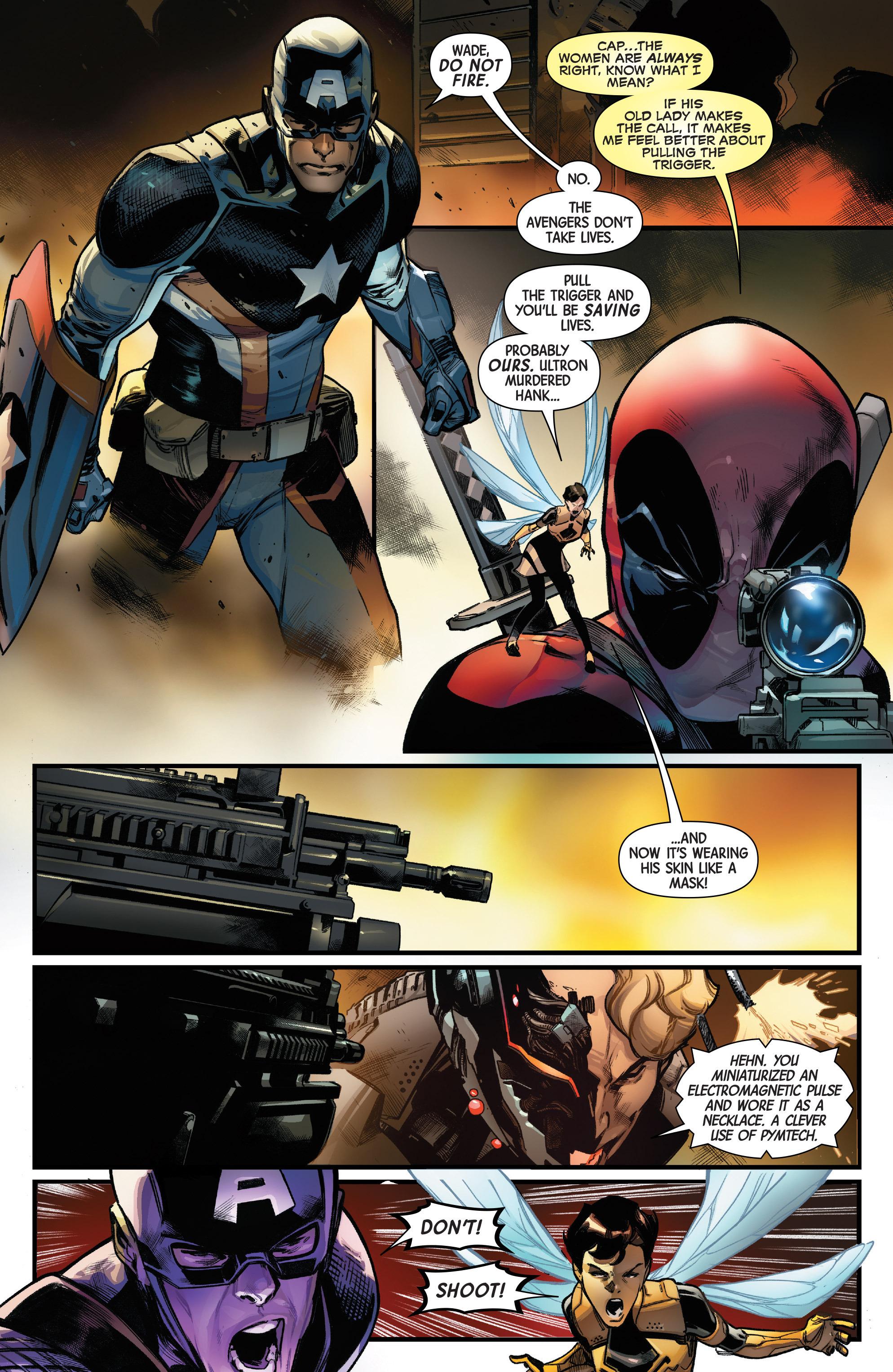 Read online Uncanny Avengers [II] comic -  Issue #10 - 21