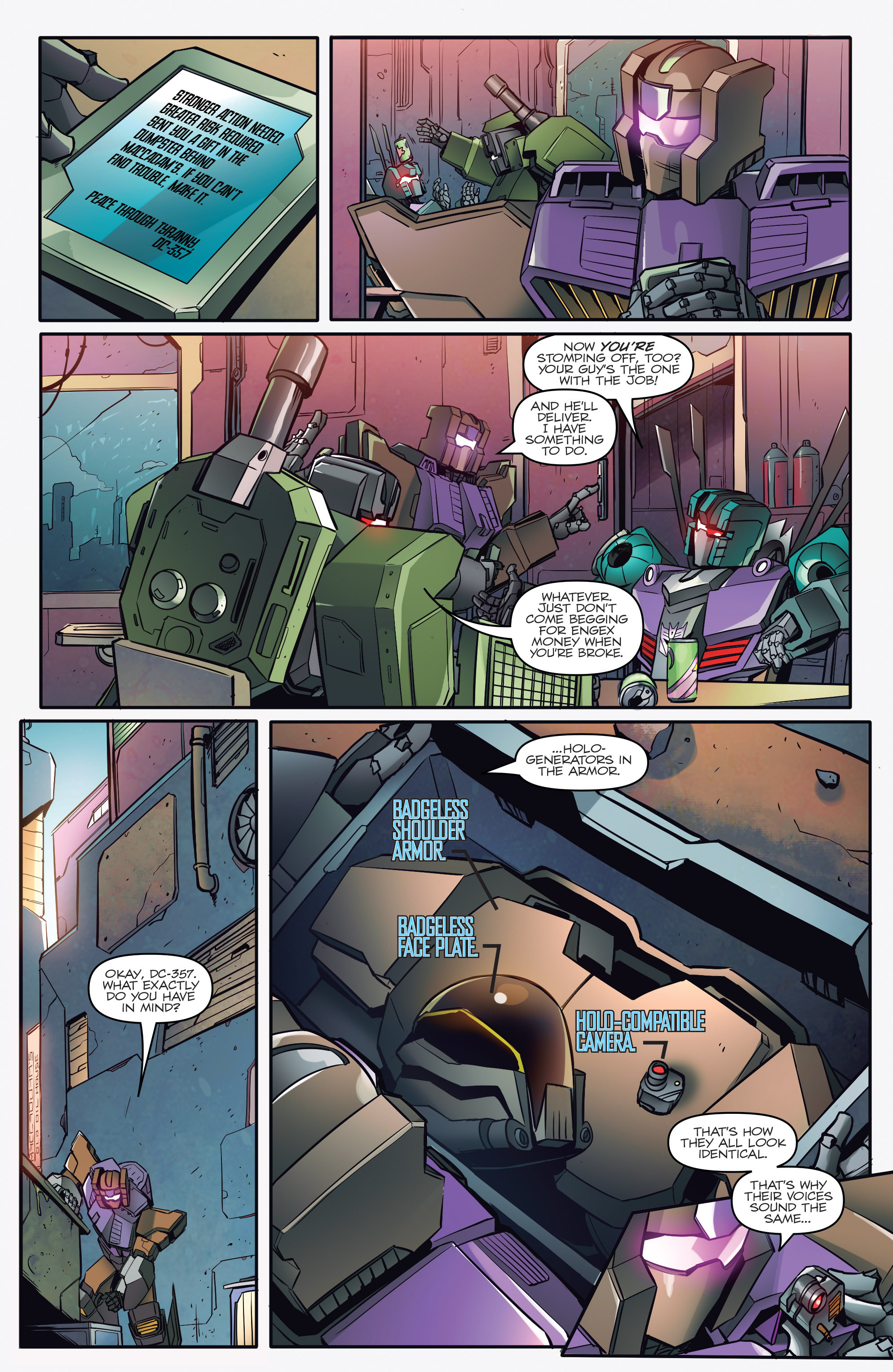 Read online Transformers: Till All Are One comic -  Issue #1 - 10