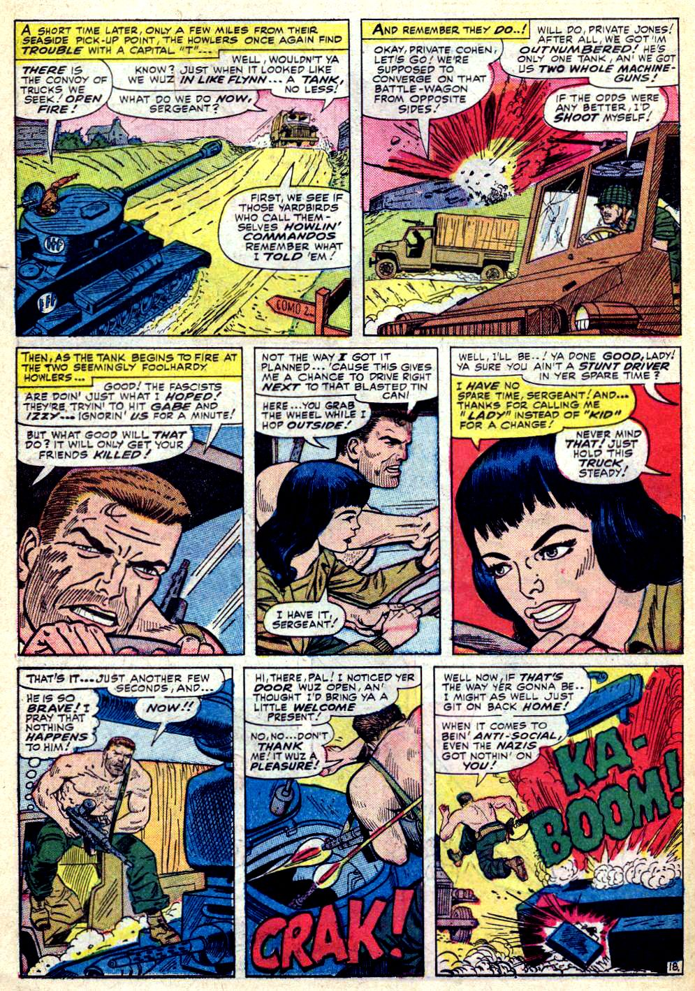 Read online Sgt. Fury comic -  Issue #30 - 26