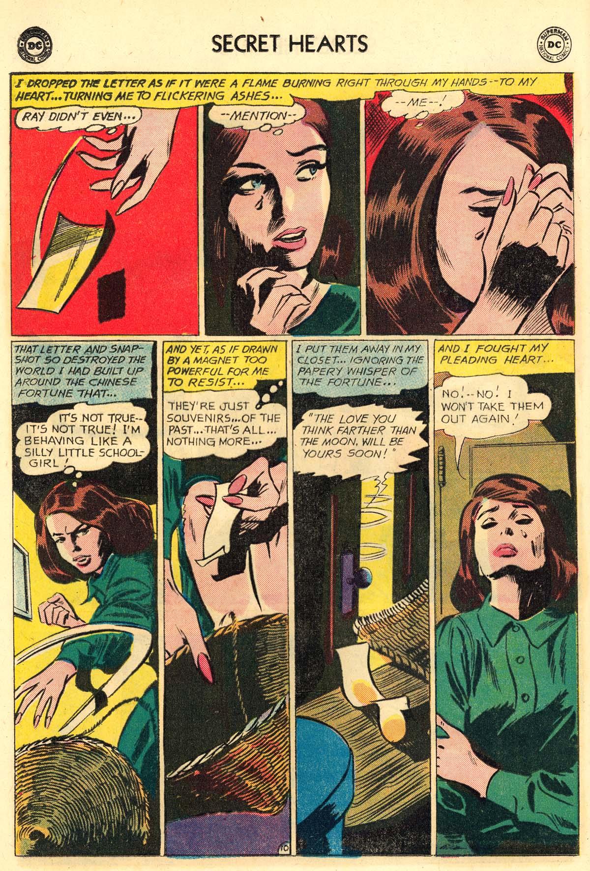 Read online Secret Hearts comic -  Issue #106 - 12