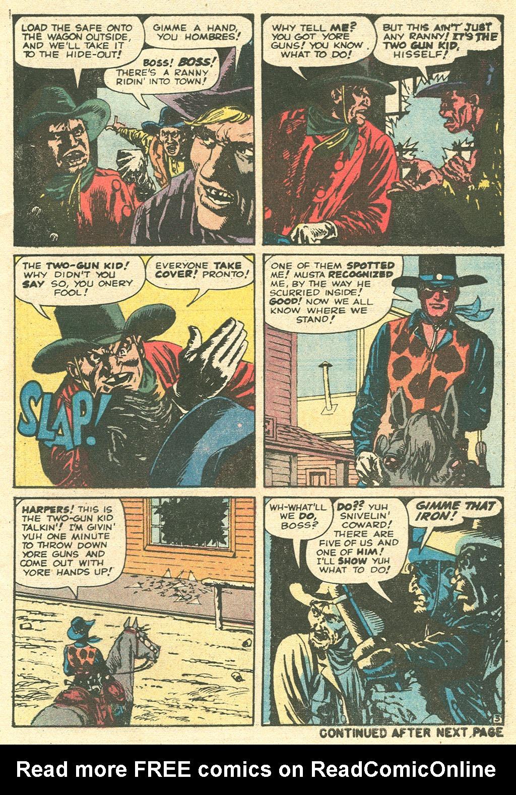 Read online Two-Gun Kid comic -  Issue #99 - 5