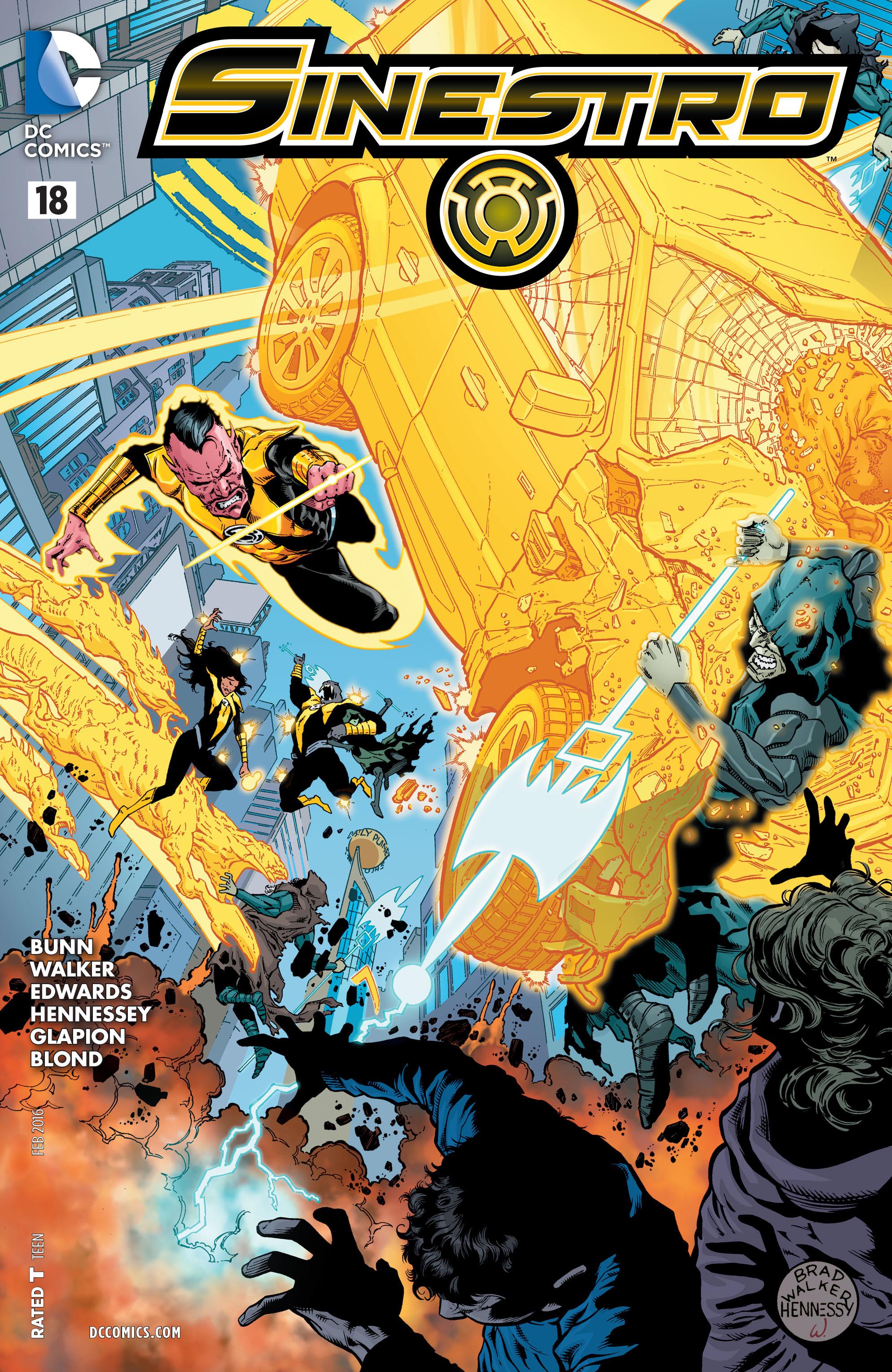 Read online Sinestro comic -  Issue #18 - 1