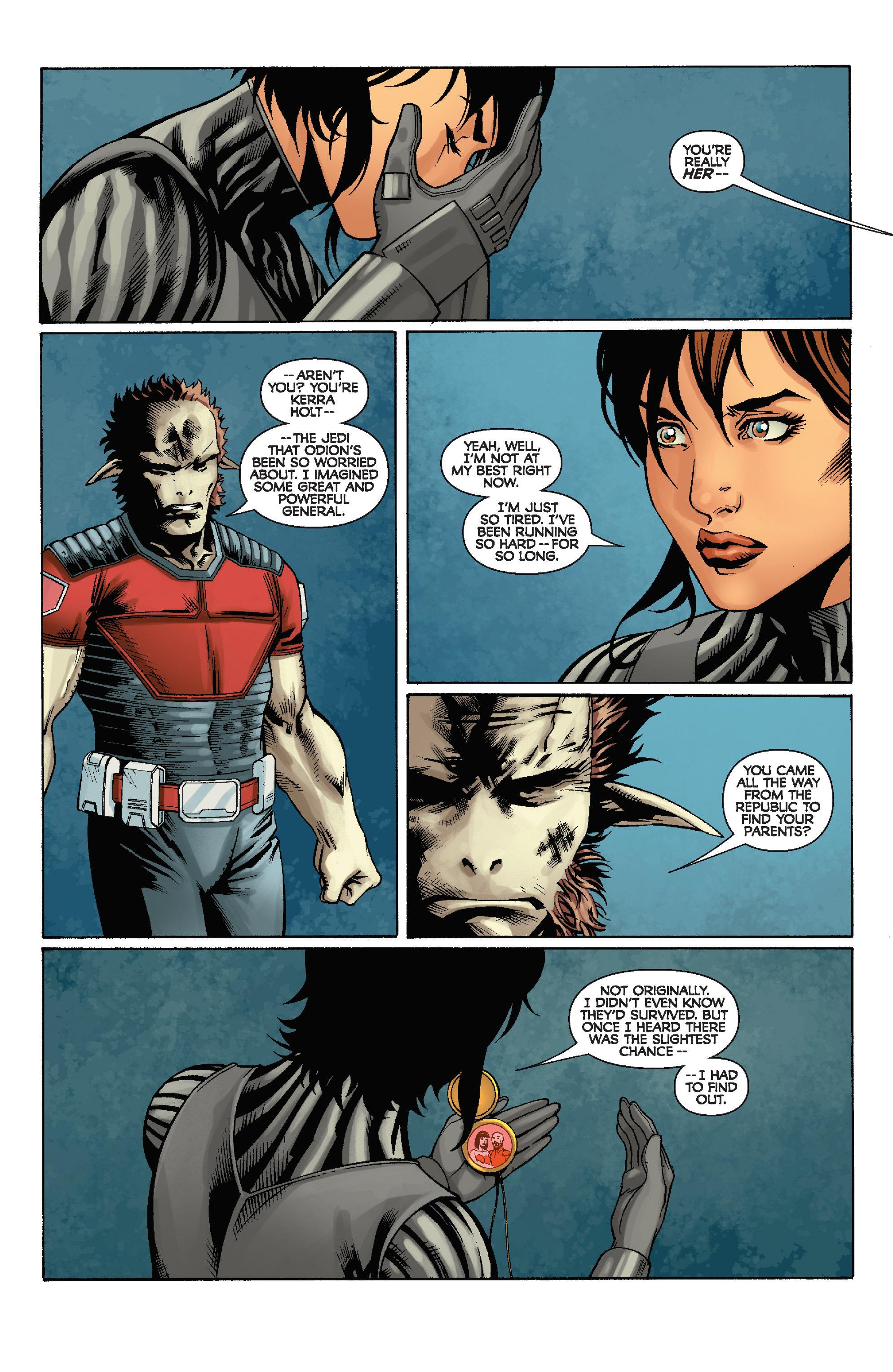 Read online Star Wars: Knight Errant - Escape comic -  Issue #4 - 18