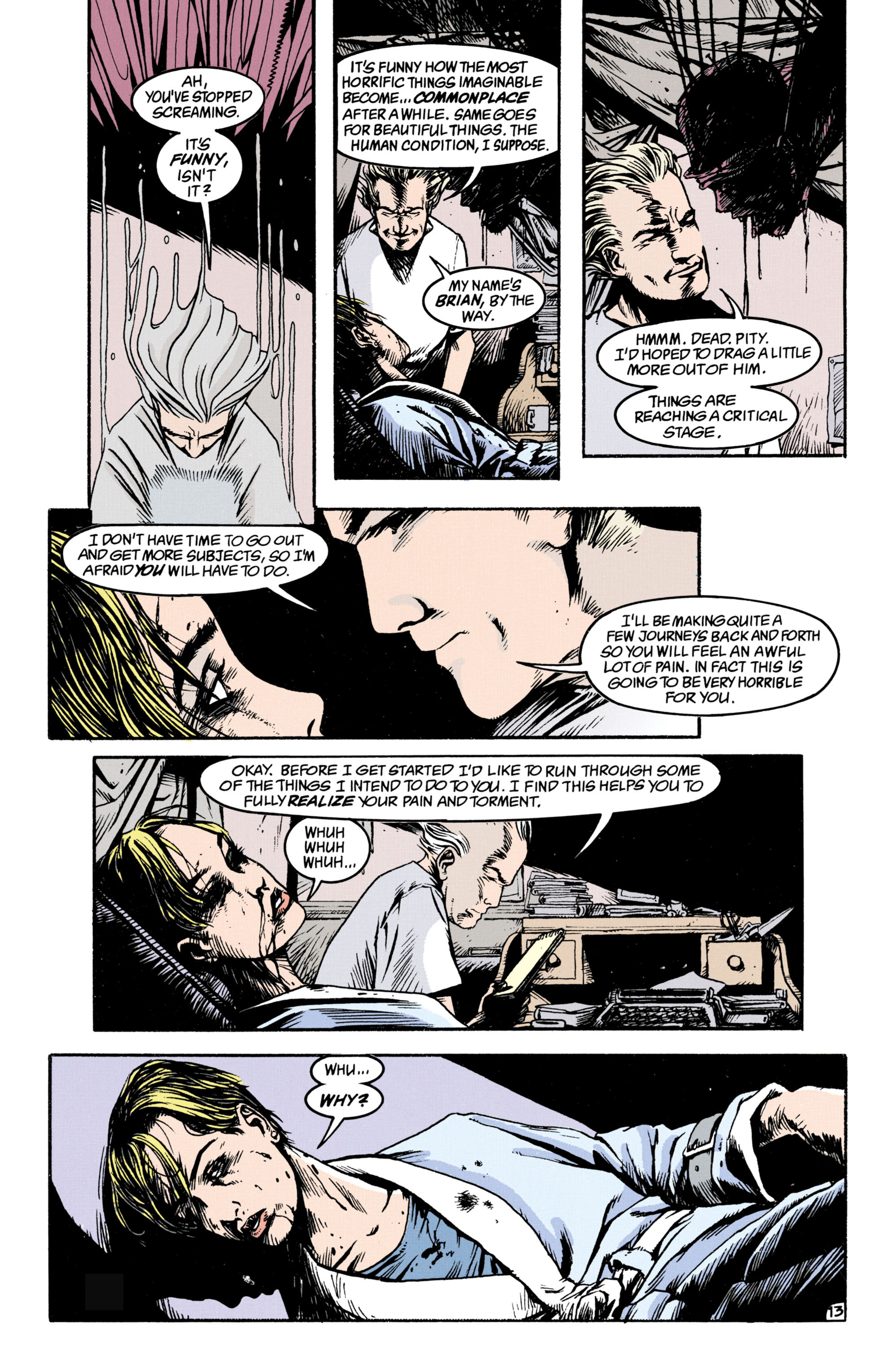 Read online Shade, the Changing Man comic -  Issue #34 - 13