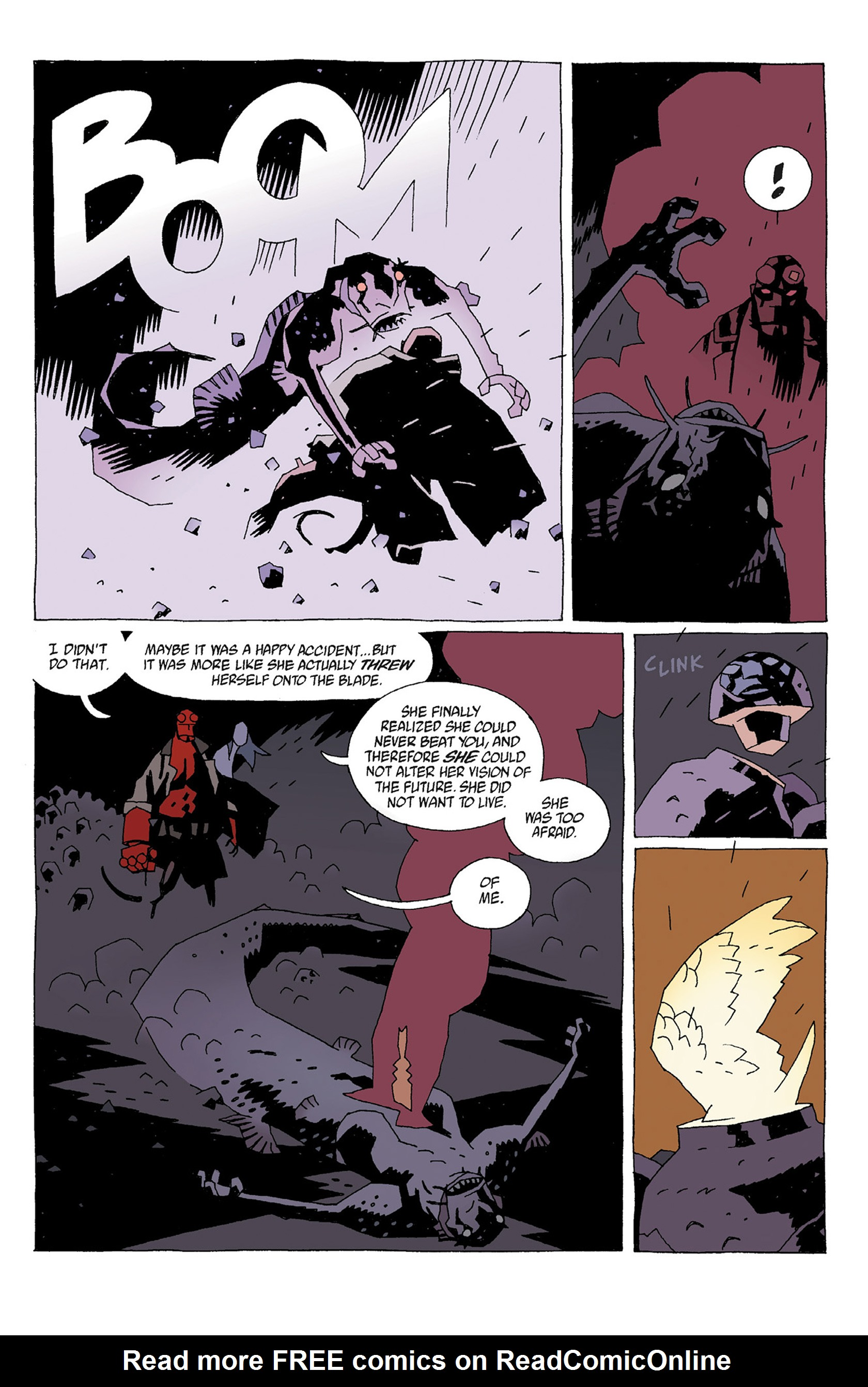 Read online Hellboy: Strange Places comic -  Issue # TPB - 61