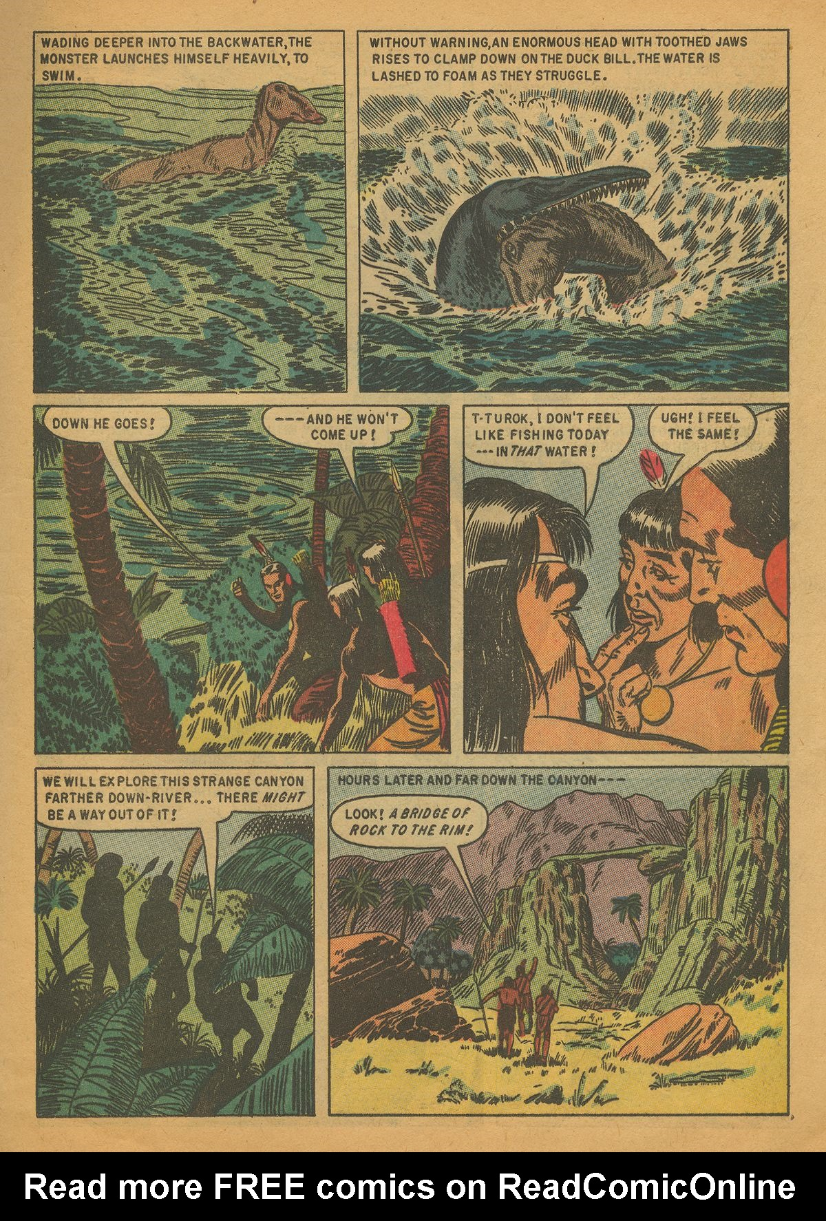 Read online Turok, Son of Stone comic -  Issue #4 - 9