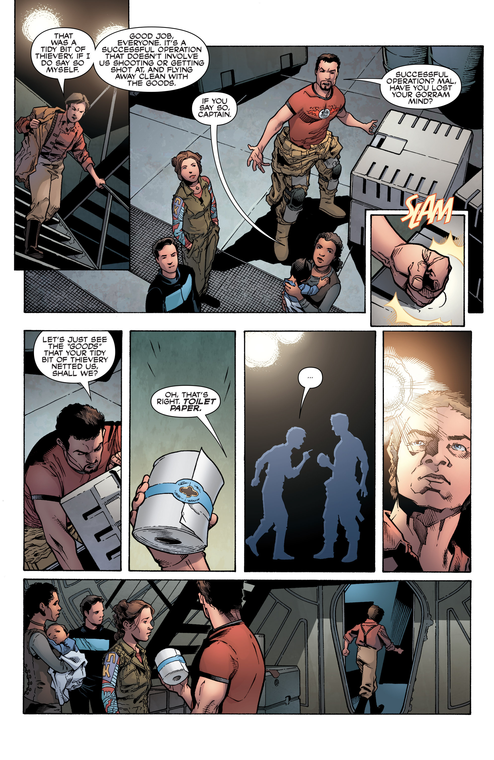 Read online Serenity: Firefly Class 03-K64 – No Power in the 'Verse comic -  Issue #1 - 16