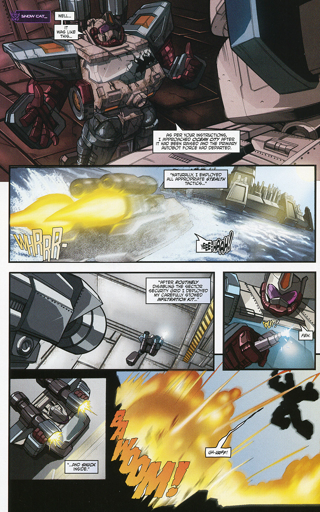 Read online Transformers 20th Anniversary Summer Special comic -  Issue # Full - 14