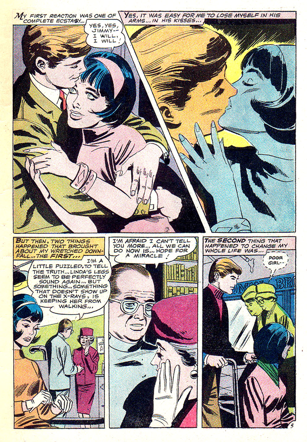 Read online Secret Hearts comic -  Issue #131 - 7