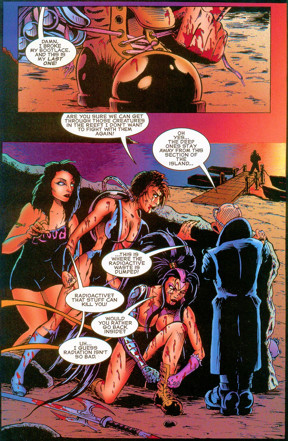 Read online Sisters of Mercy comic -  Issue #5 - 15